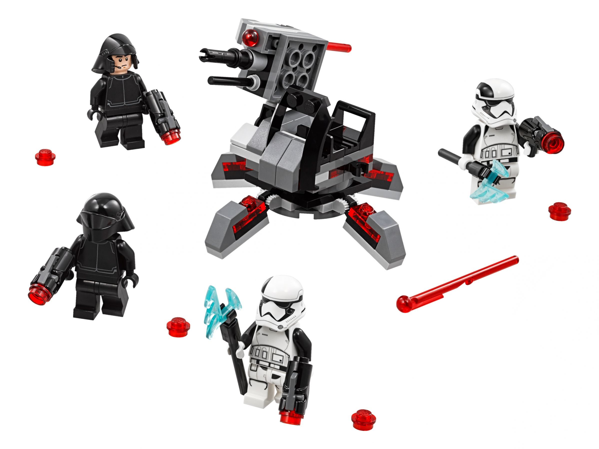 lego 75197 first order specialists battle pack star wars 2018 ab 10 41 39 gespart. Black Bedroom Furniture Sets. Home Design Ideas