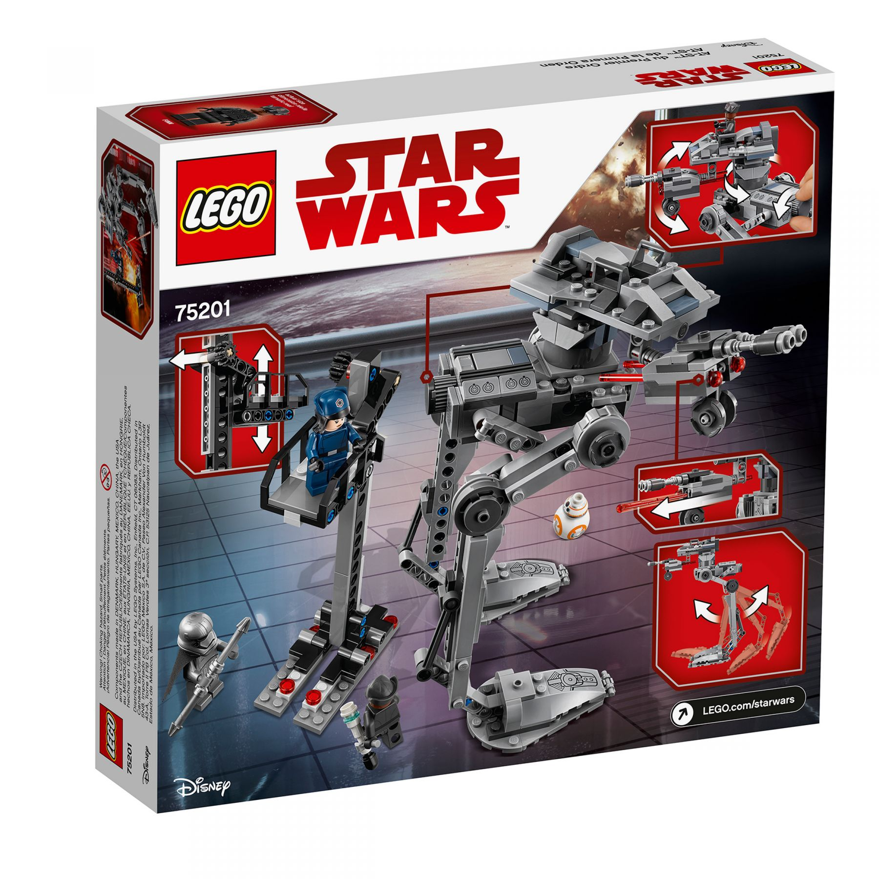 LEGO Star Wars 75201 First Order AT-ST™ LEGO_75201_alt6.jpg