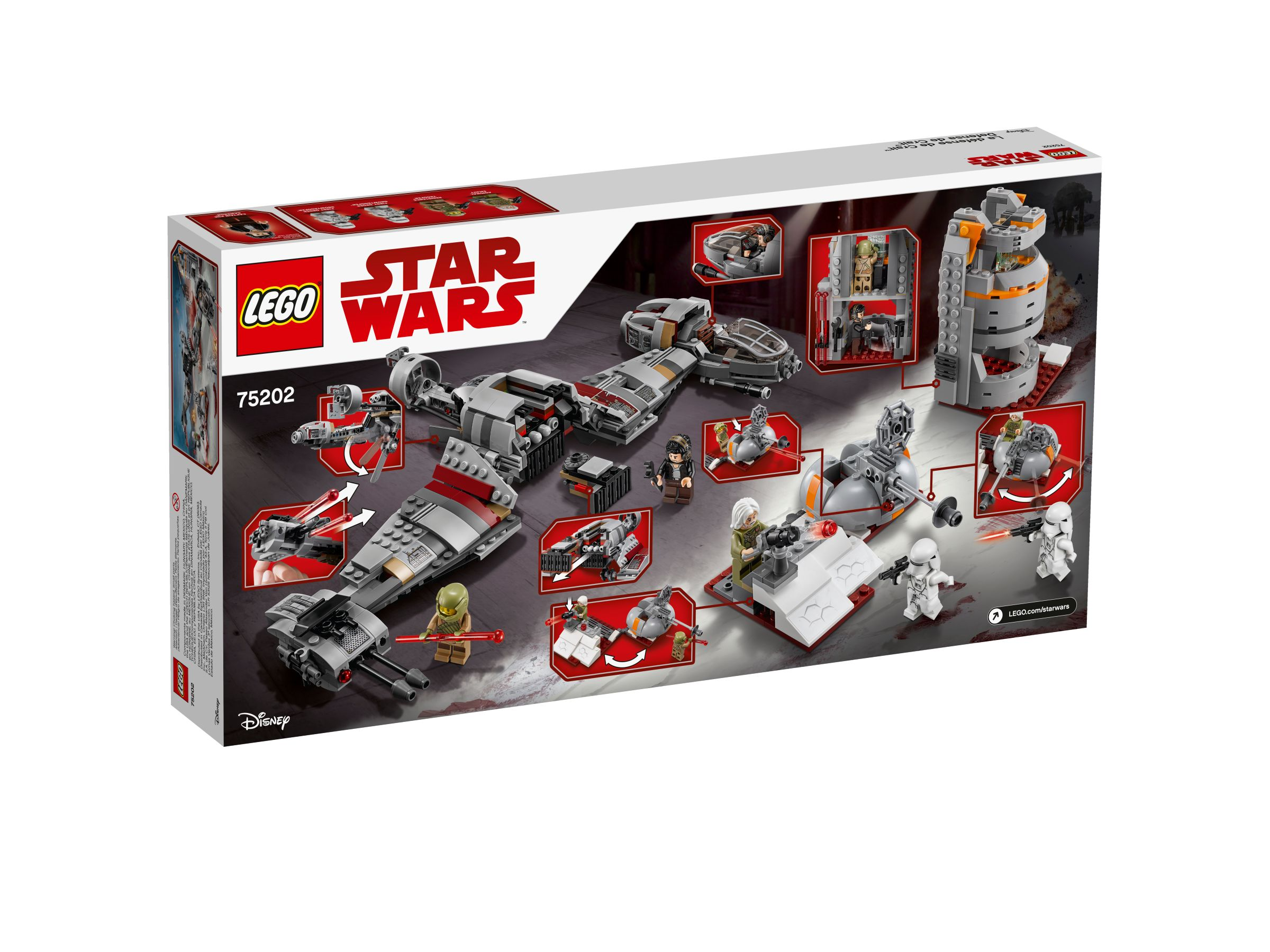 LEGO Star Wars 75202 Defense of Crait™ LEGO_75202_alt2.jpg