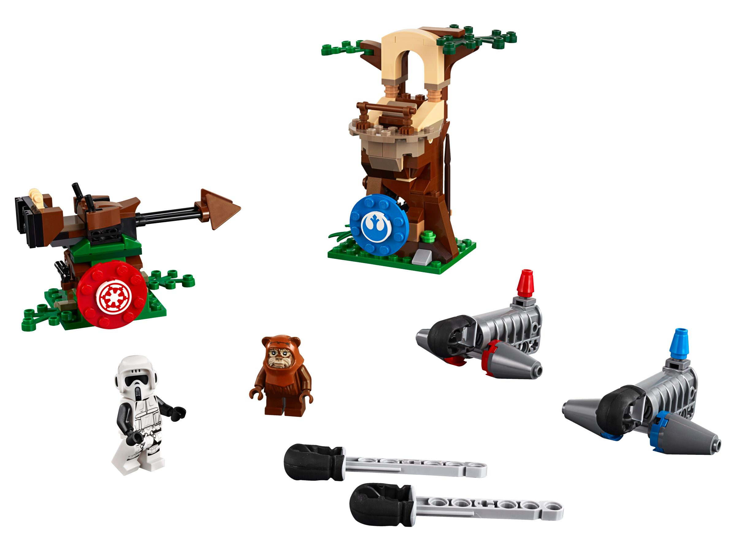 LEGO Star Wars 75238 Action Battle Endor™ Attacke