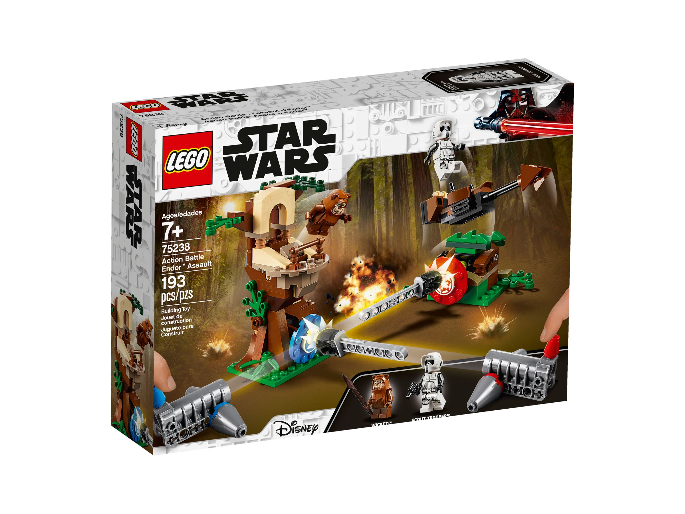 LEGO Star Wars 75238 Action Battle Endor™ Attacke LEGO_75238_alt1.jpg