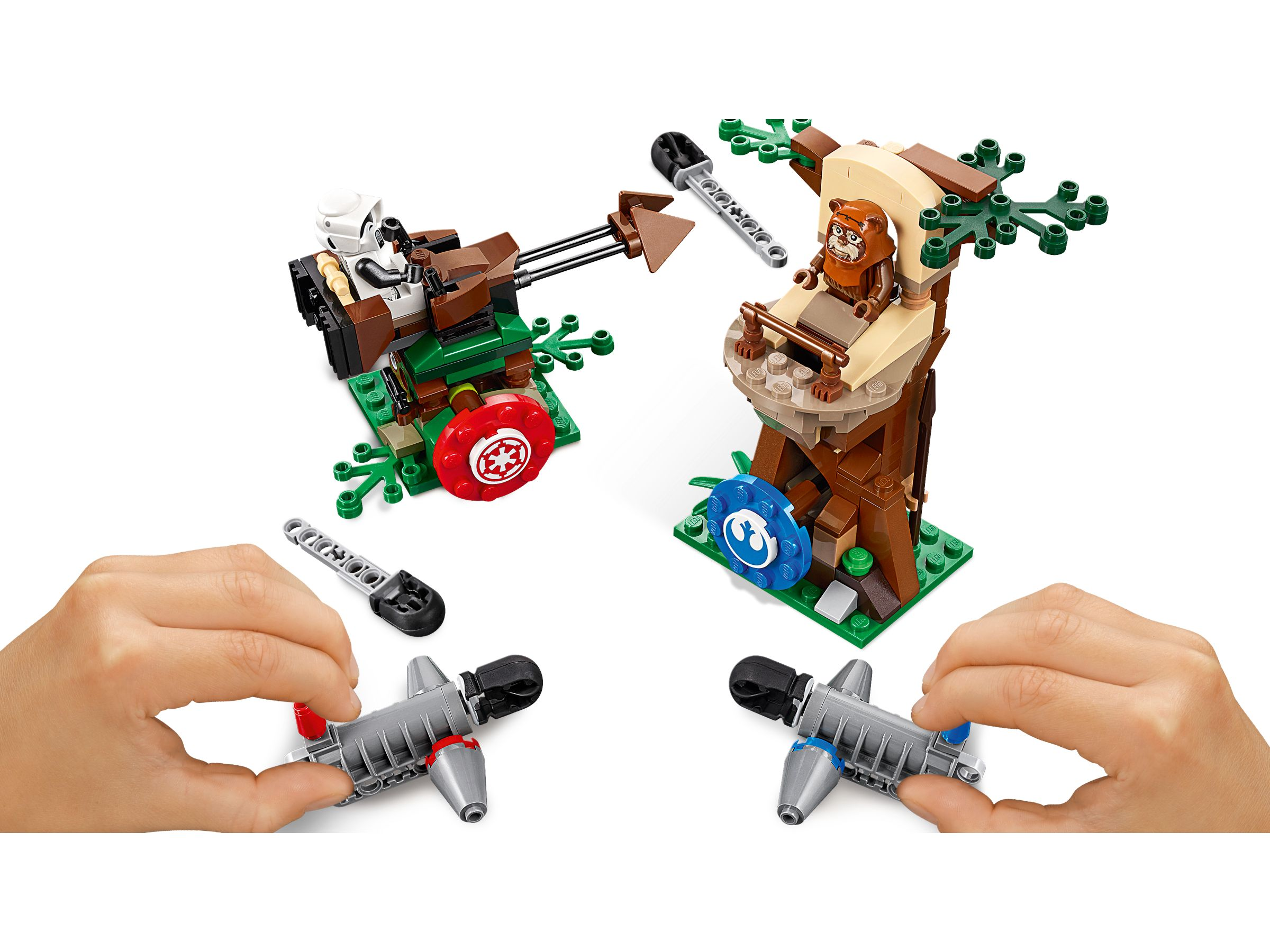 LEGO Star Wars 75238 Action Battle Endor™ Attacke LEGO_75238_alt3.jpg