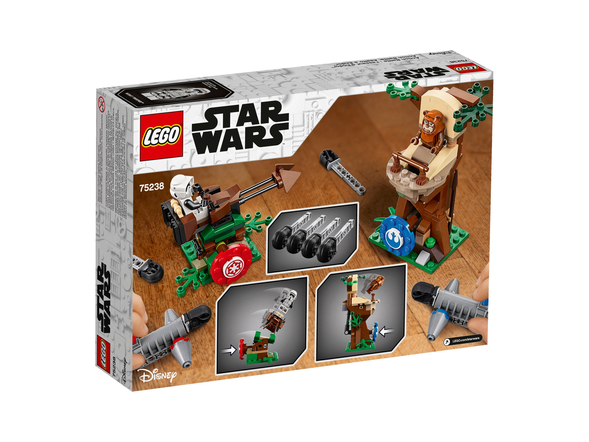 LEGO Star Wars 75238 Action Battle Endor™ Attacke LEGO_75238_alt4.jpg