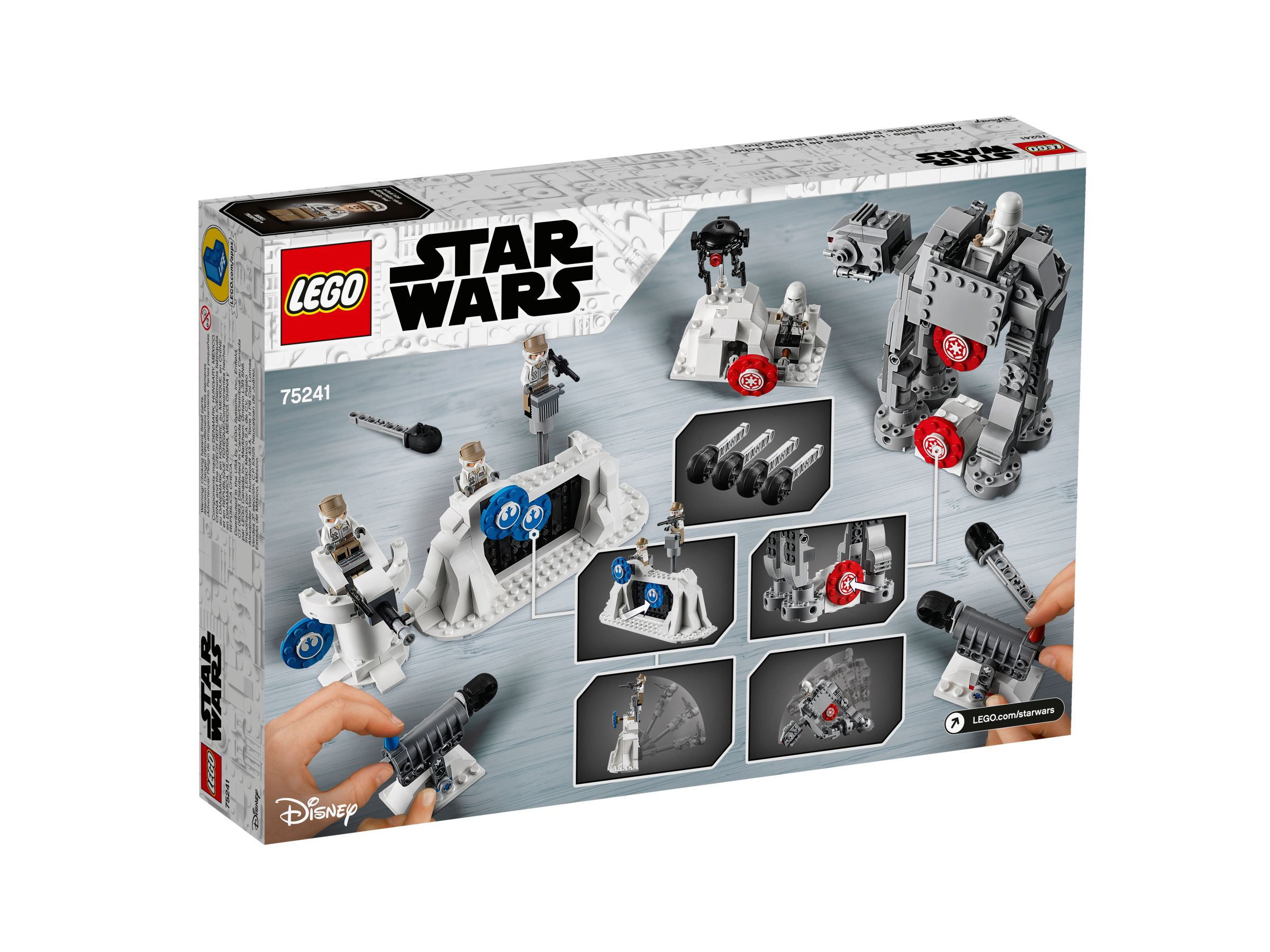 LEGO Star Wars 75241 Action Battle Echo Base™ Verteidigung LEGO_75241_alt4.jpg