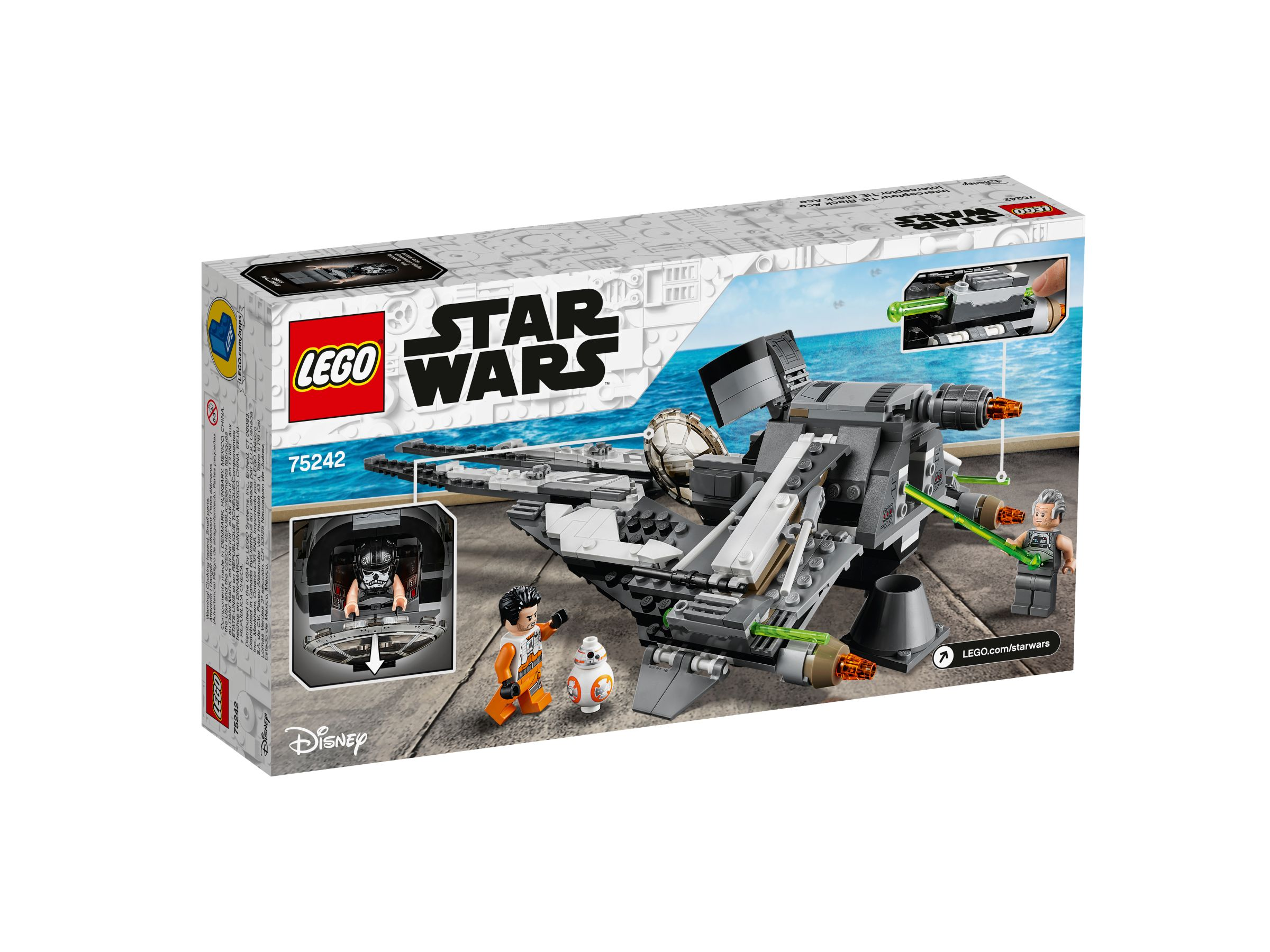 LEGO Star Wars 75242 TIE Interceptor™ – Allianz-Pilot LEGO_75242_alt4.jpg