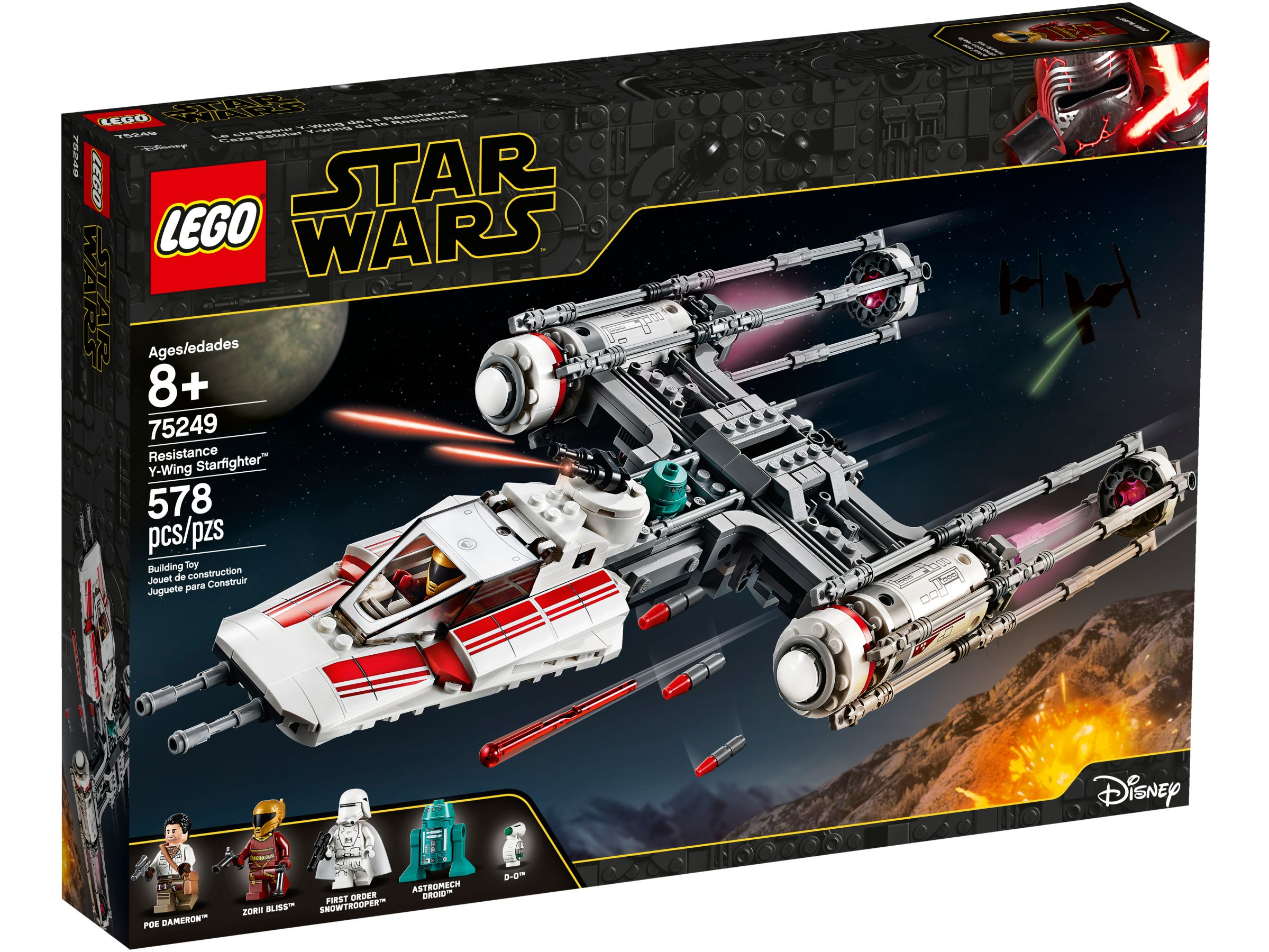 LEGO® Star Wars 75249 Widerstands Y-Wing Starfighter™