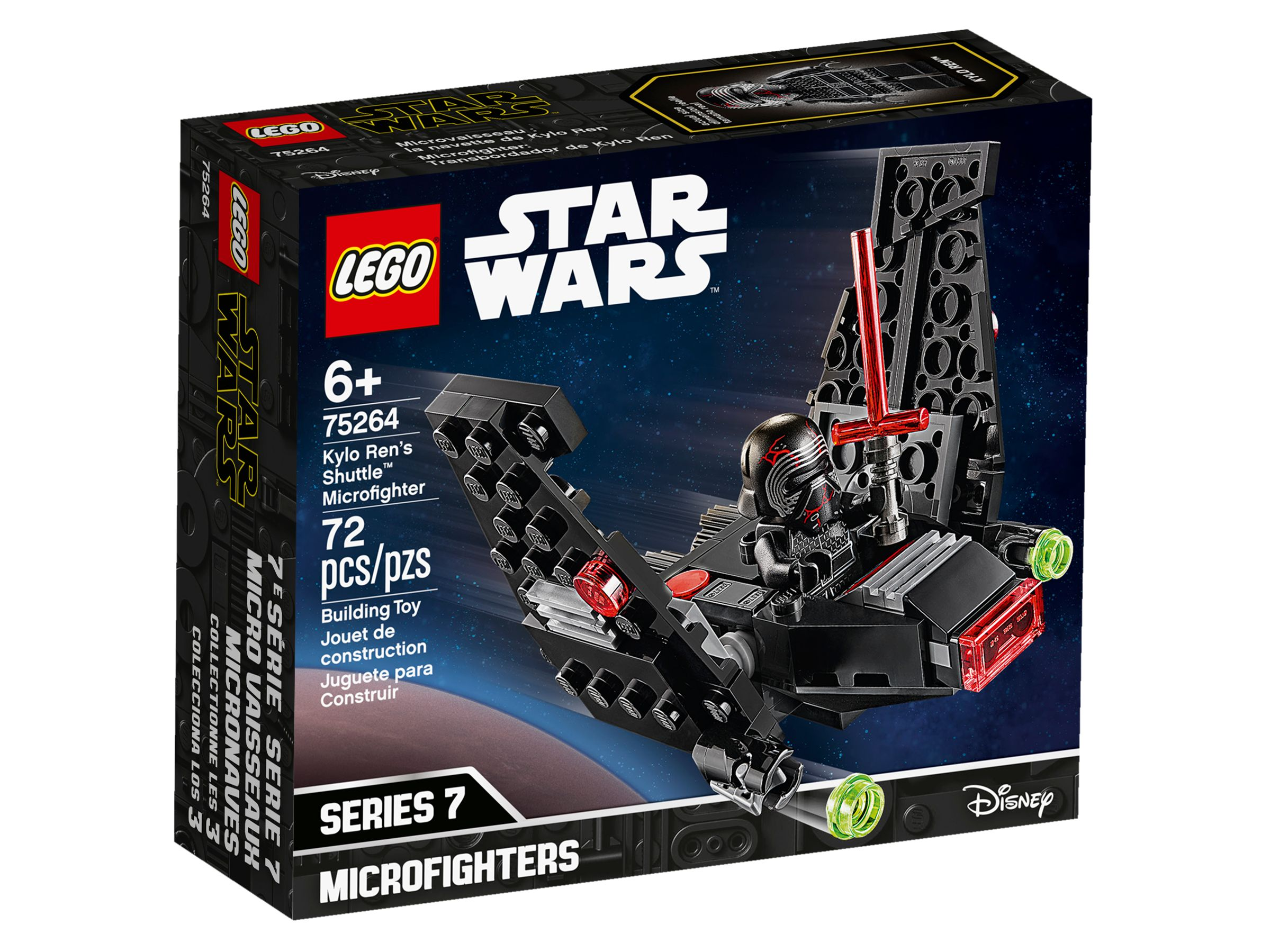 LEGO Star Wars 75264 Kylo Rens Shuttle™ Microfighter LEGO_75264_alt1.jpg