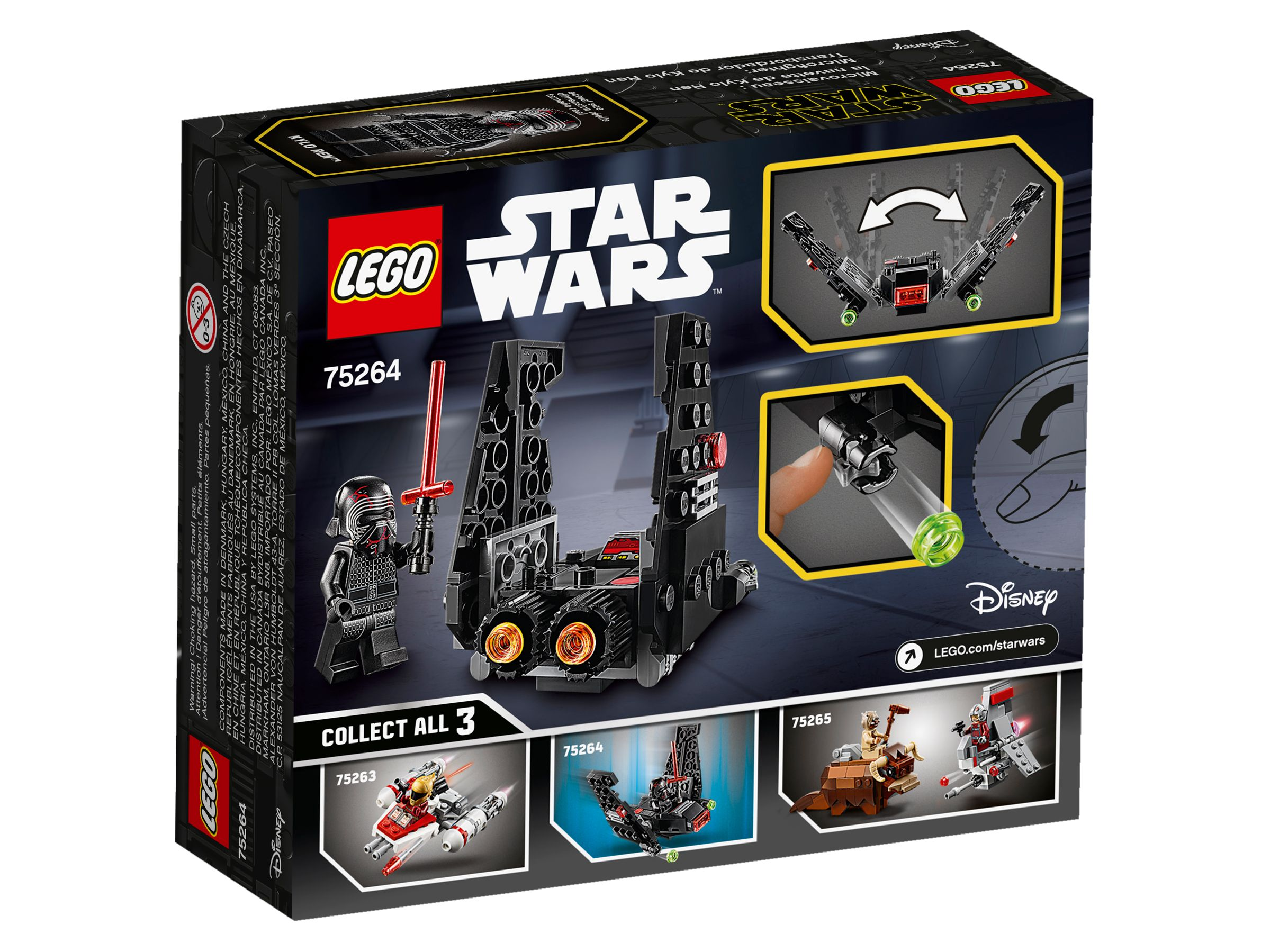 LEGO Star Wars 75264 Kylo Rens Shuttle™ Microfighter LEGO_75264_alt4.jpg