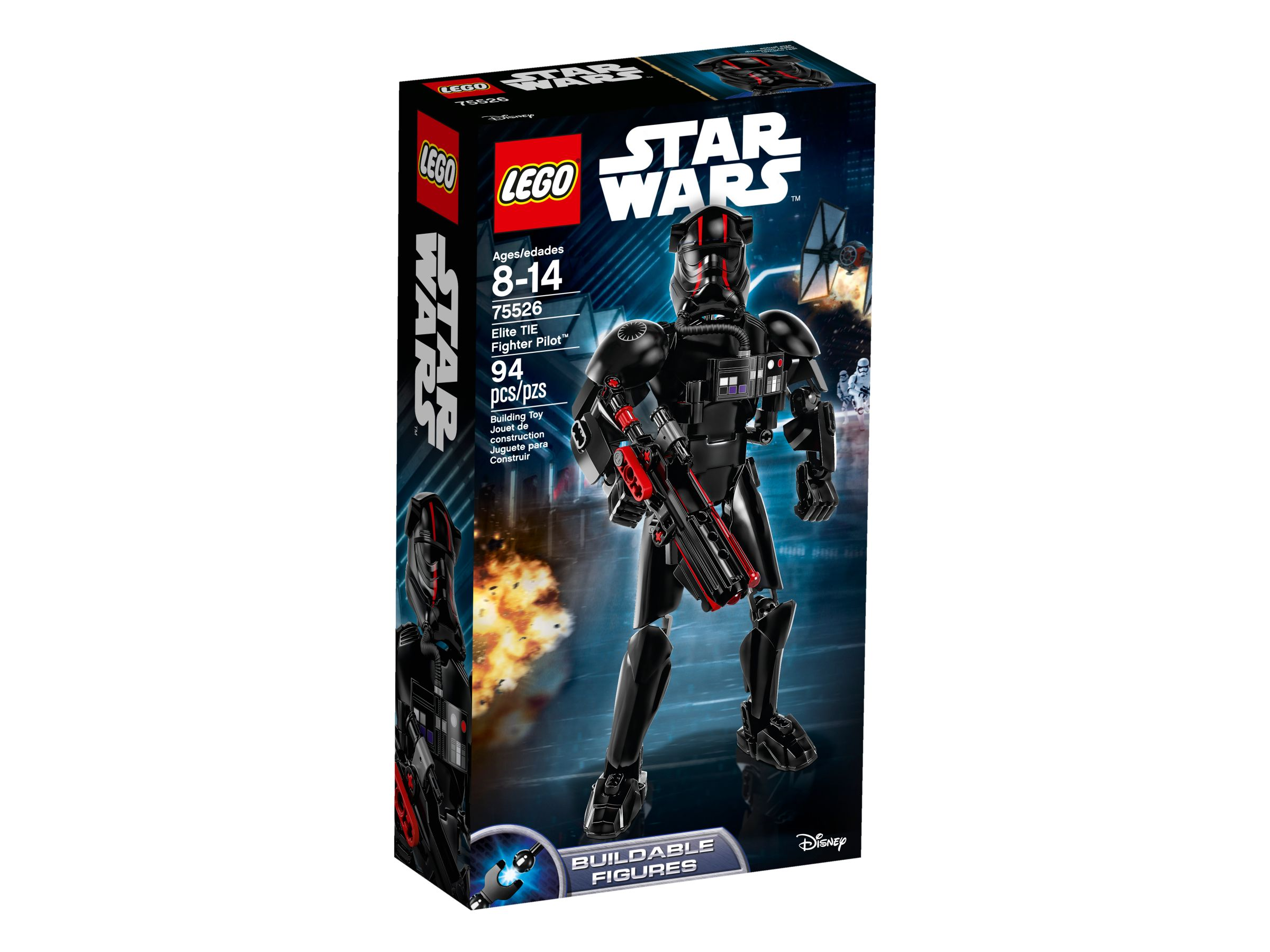 LEGO Star Wars Buildable Figures 75526 Elite TIE Fighter Pilot™ LEGO_75526_alt1.jpg