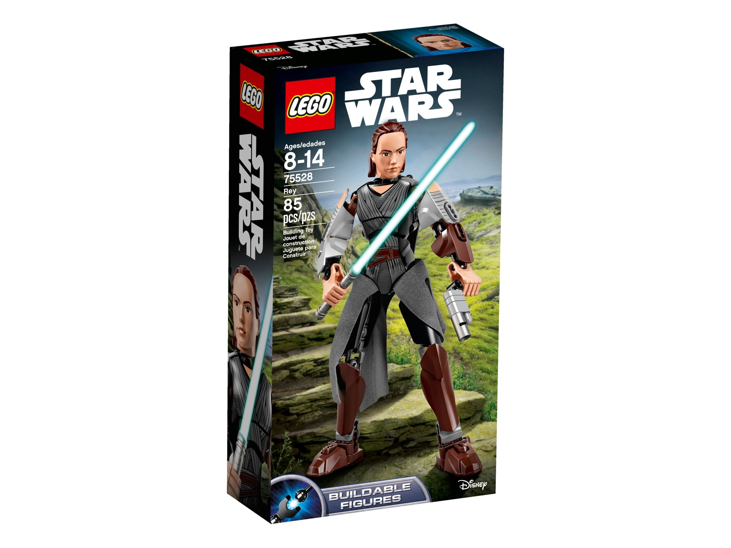 LEGO Star Wars Buildable Figures 75528 Rey LEGO_75528_alt1.jpg