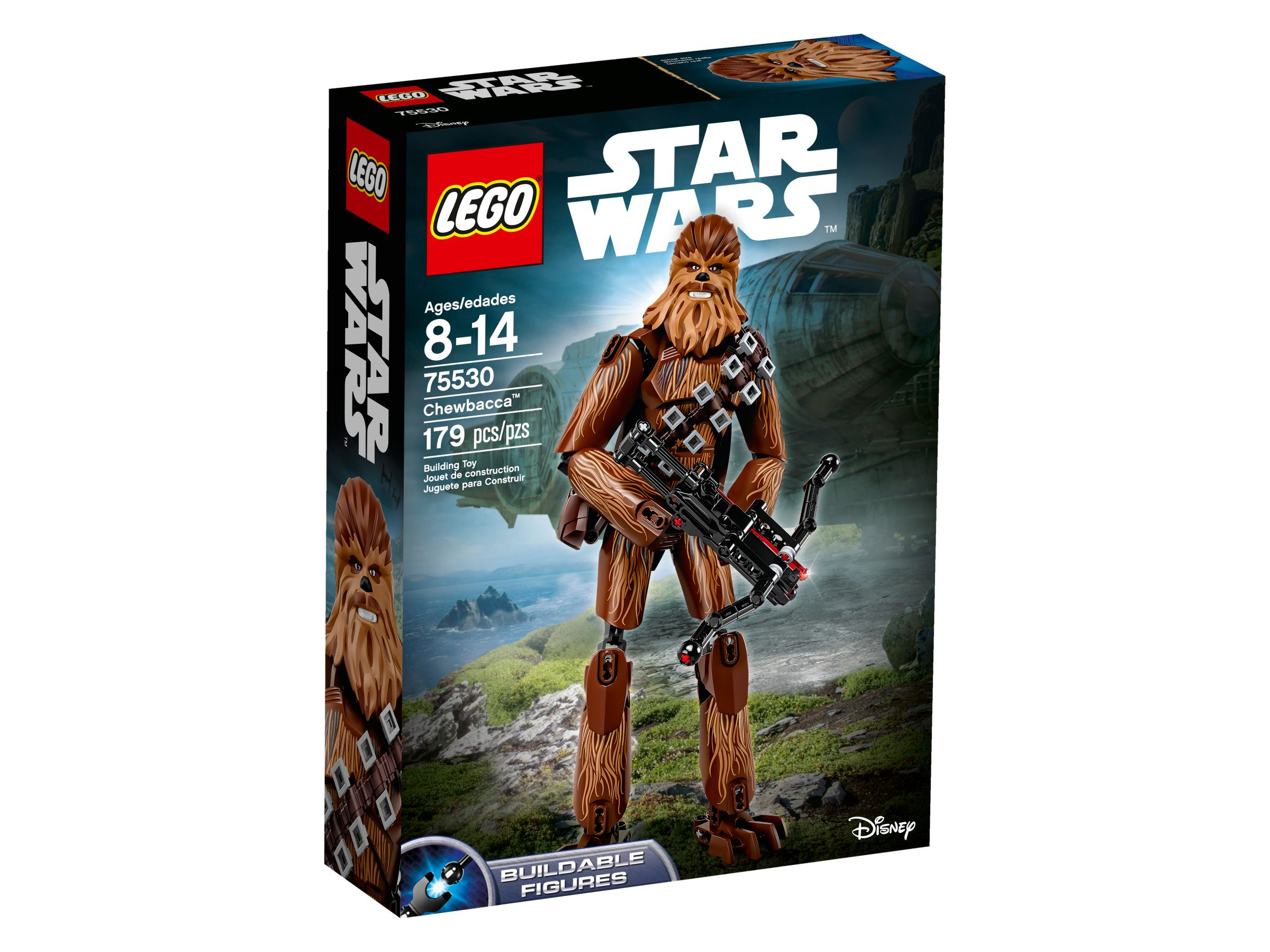 LEGO Star Wars Buildable Figures 75530 Chewbacca™ LEGO_75530_alt1.jpg