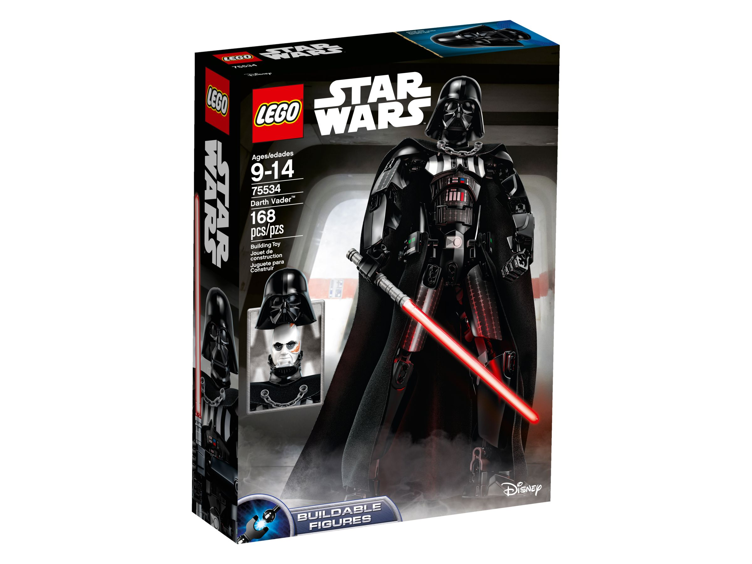 LEGO Star Wars Buildable Figures 75534 Darth Vader LEGO_75534_alt1.jpg