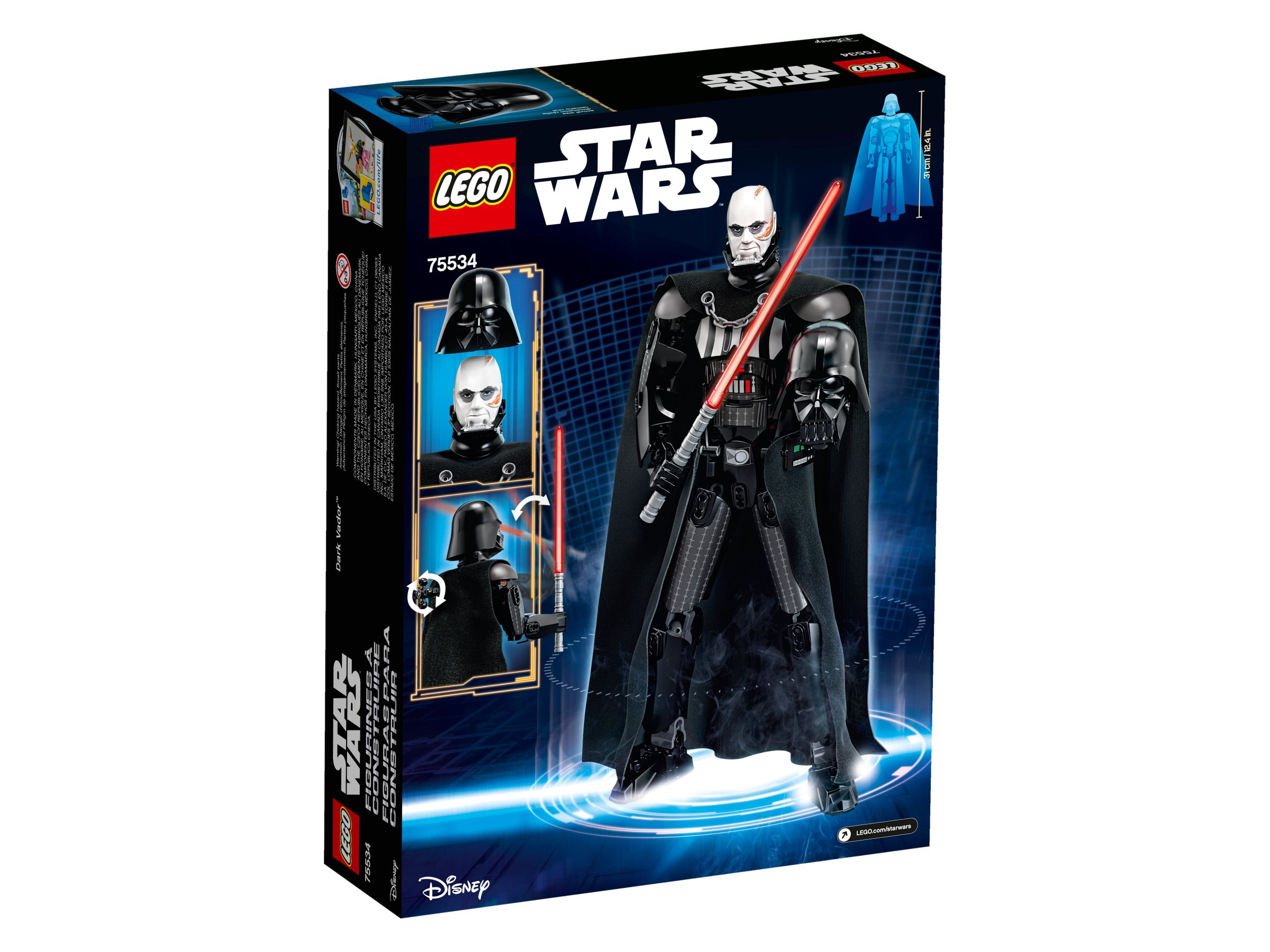 LEGO Star Wars Buildable Figures 75534 Darth Vader LEGO_75534_alt2.jpg