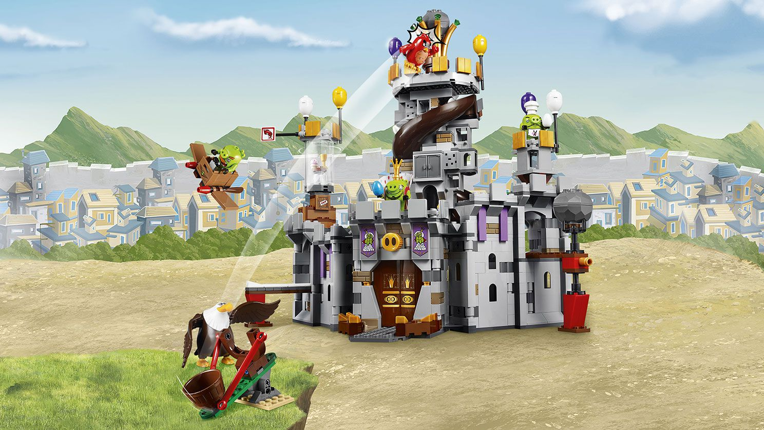 LEGO Angry Birds 75826 King Pigs Castle LEGO_75826_Angry-Birds_01.jpg