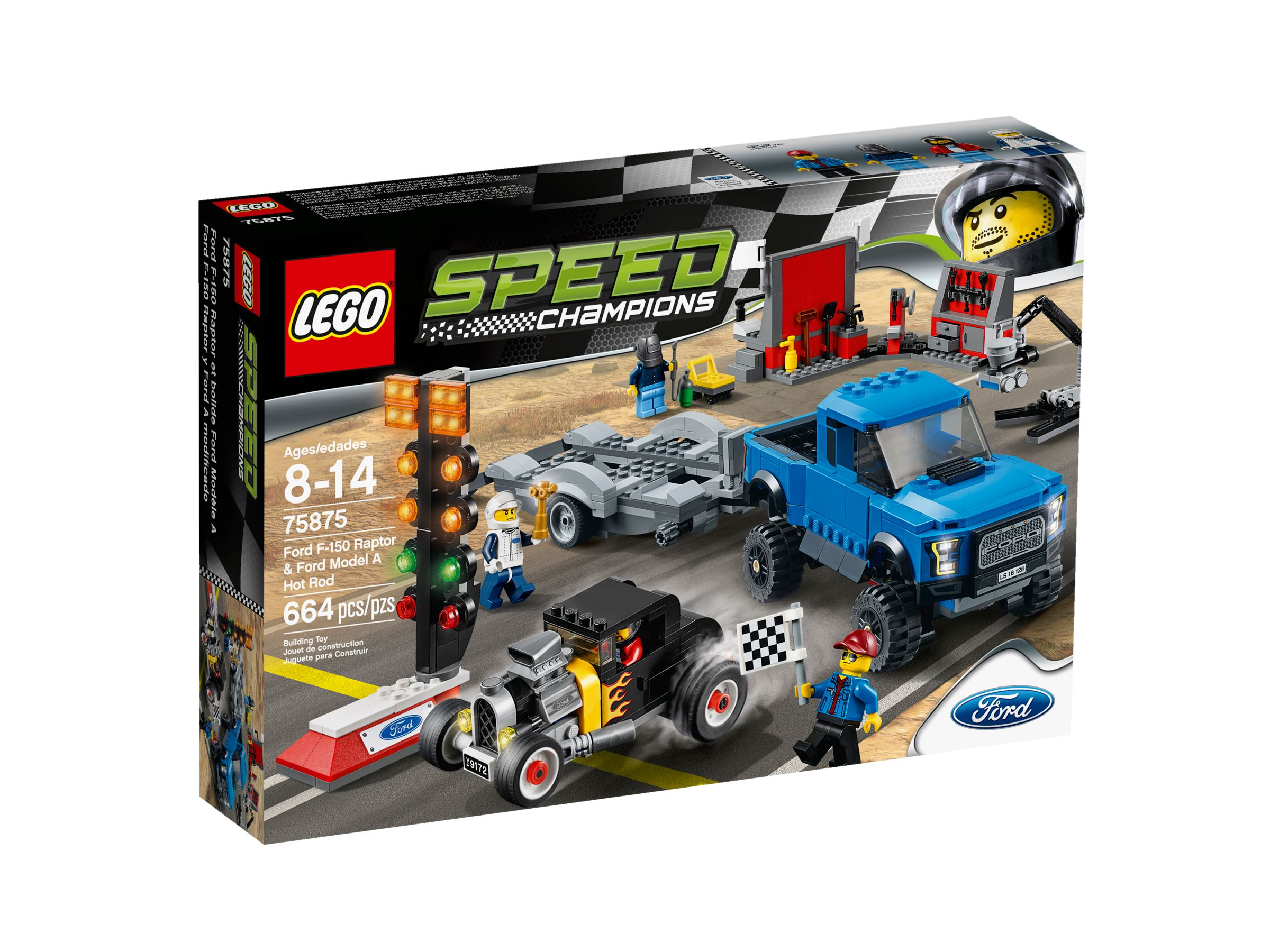 LEGO Speed Champions 75875 Ford F-150 Raptor & Ford Model A Hot Rod LEGO_75875_alt1.jpg