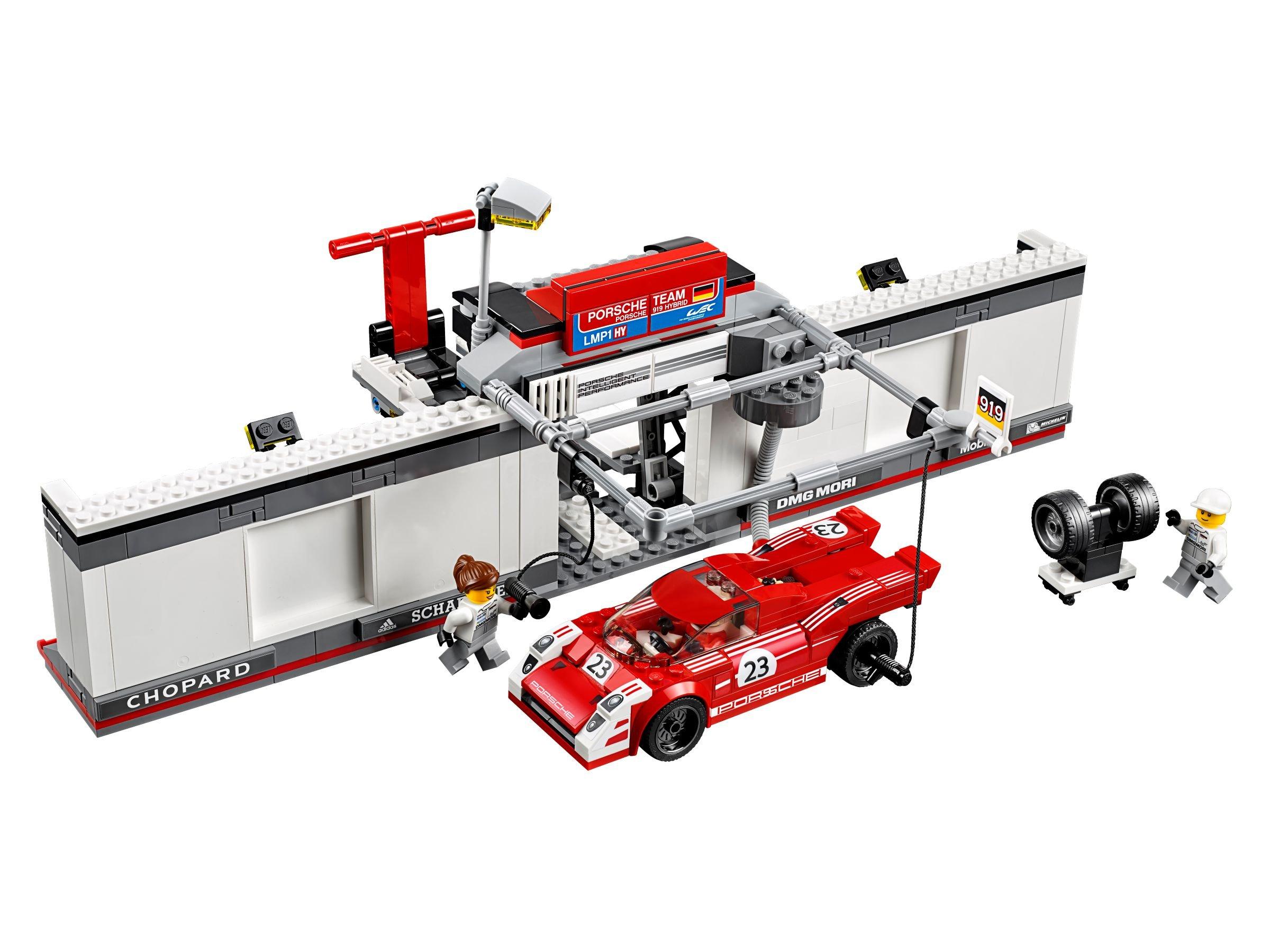 lego 75876 porsche 919 hybrid and 917k pit lane speed champions 2016 brickmerge. Black Bedroom Furniture Sets. Home Design Ideas