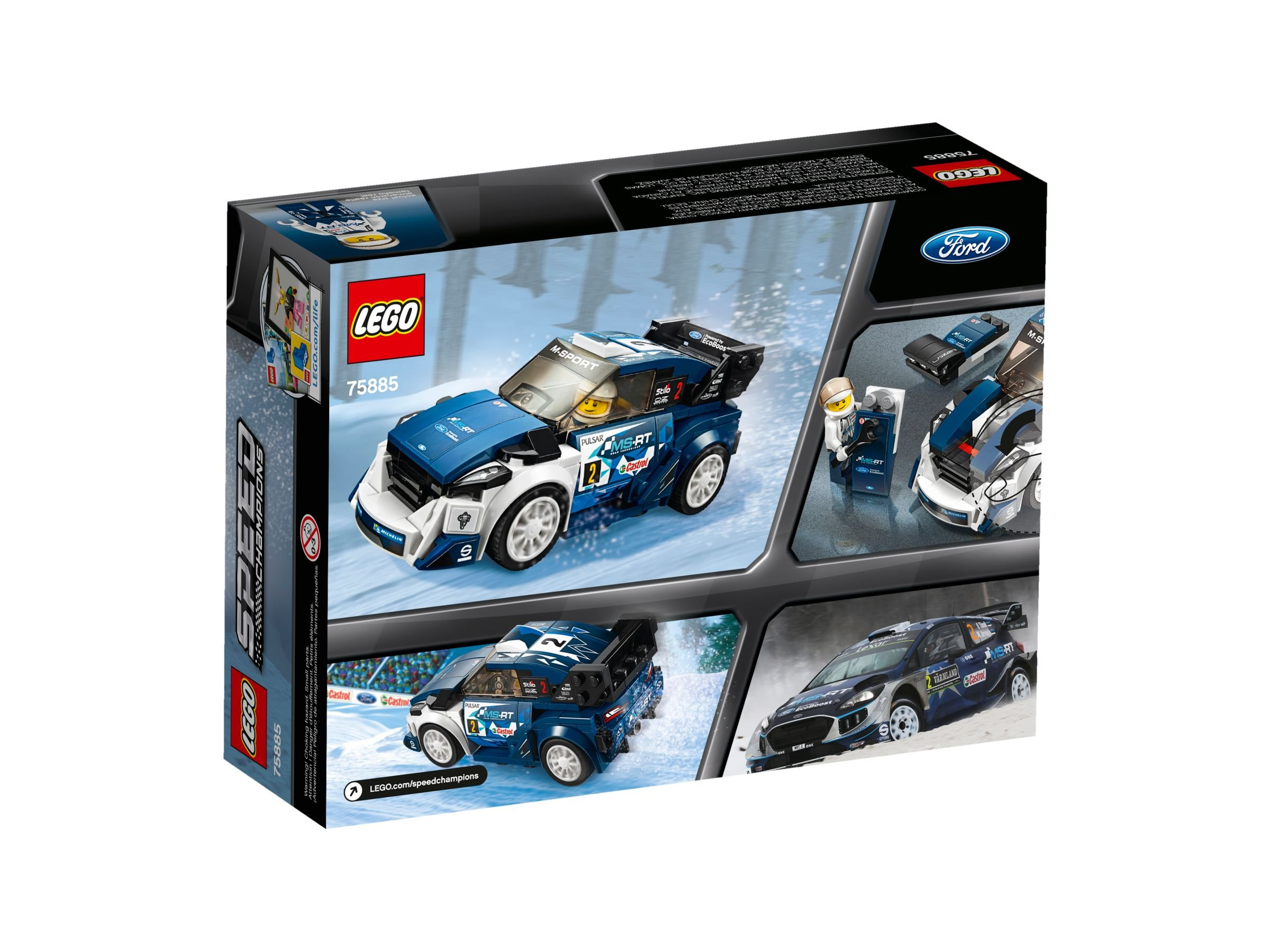 lego 75885 ford fiesta m sport wrc speed champions 2018 ab 10 99 27 gespart brickmerge. Black Bedroom Furniture Sets. Home Design Ideas