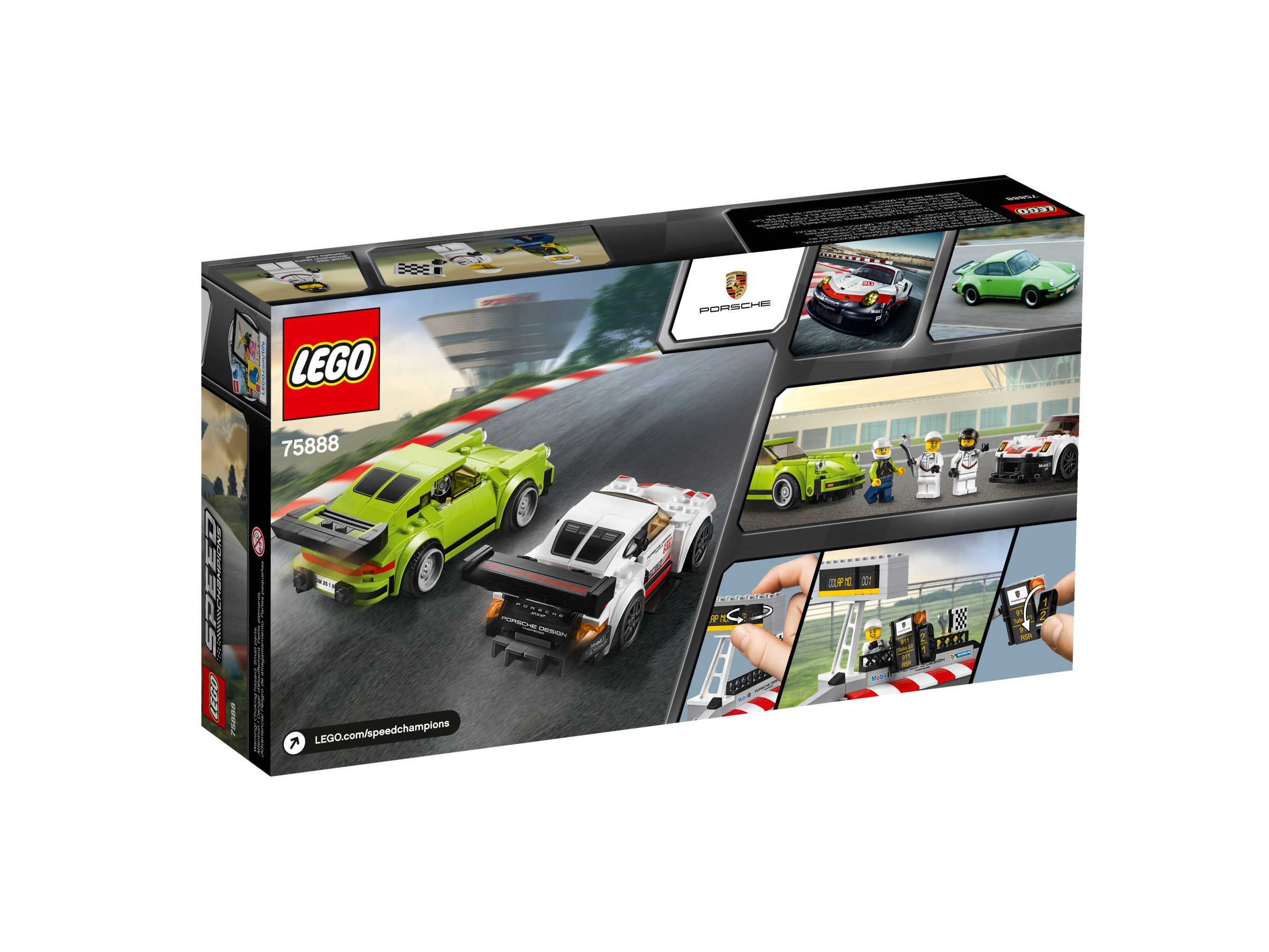 lego 75888 porsche 911 rsr porsche 911 turbo speed champions 2018 ab 29 99 25 gespart. Black Bedroom Furniture Sets. Home Design Ideas