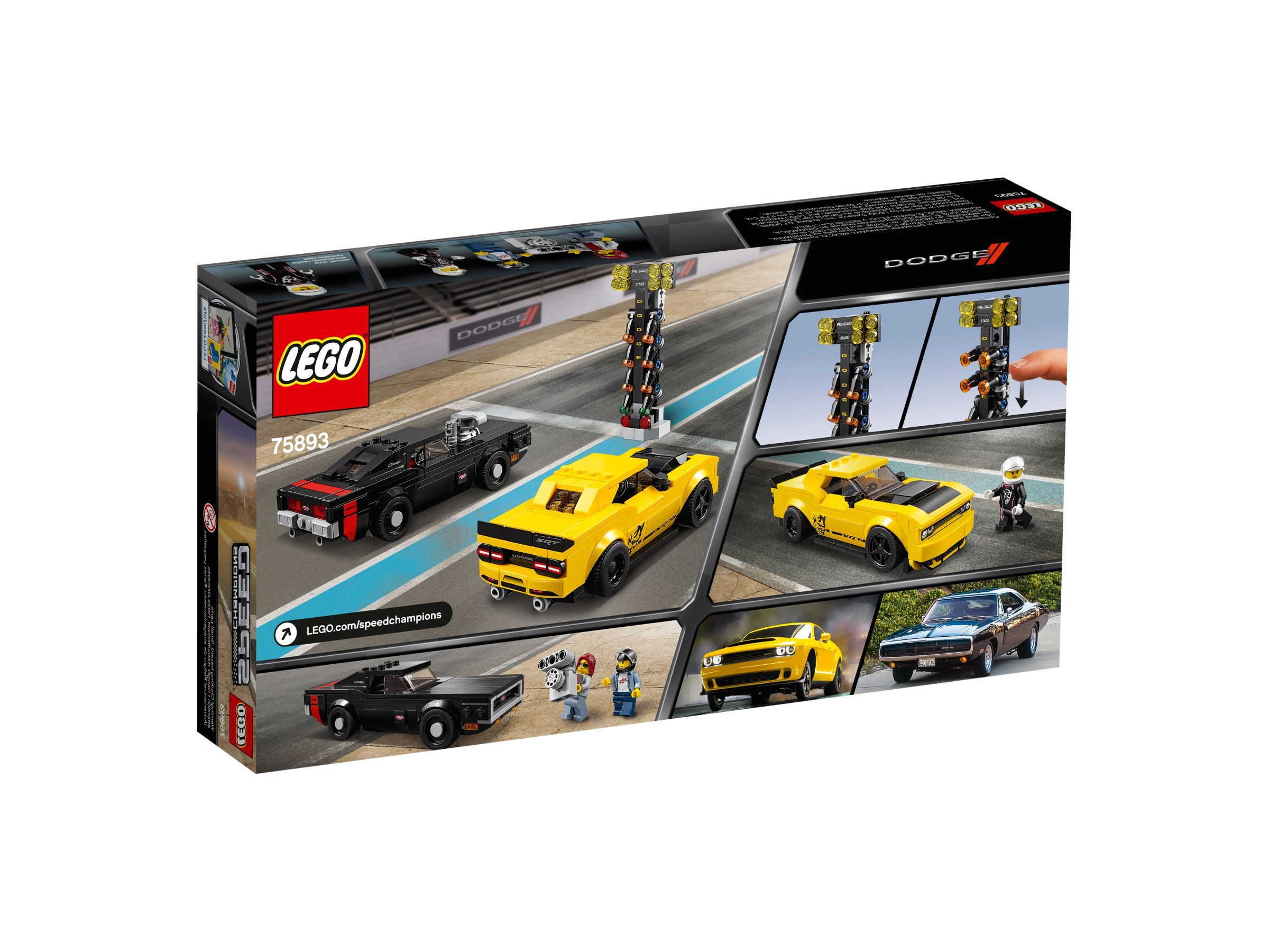 LEGO Speed Champions 75893 2018 Dodge Challenger SRT Demon und 1970 Dodge Charger R/T LEGO_75893_alt4.jpg