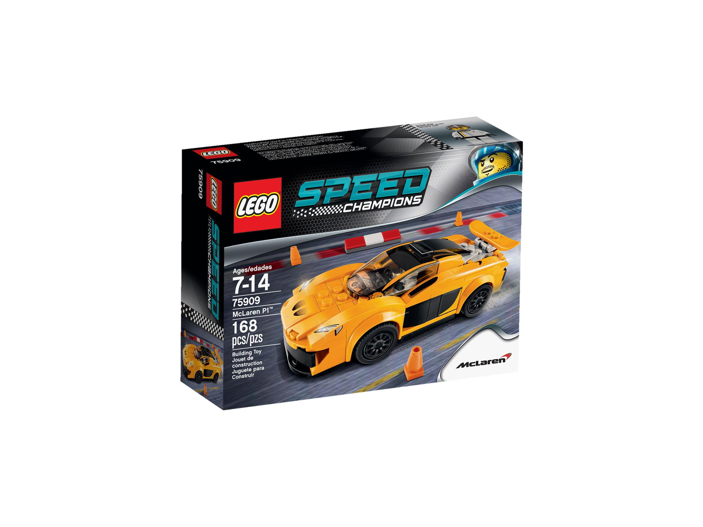 lego 75909 mclaren p1 speed champions 2015 mclaren p1 brickmerge. Black Bedroom Furniture Sets. Home Design Ideas