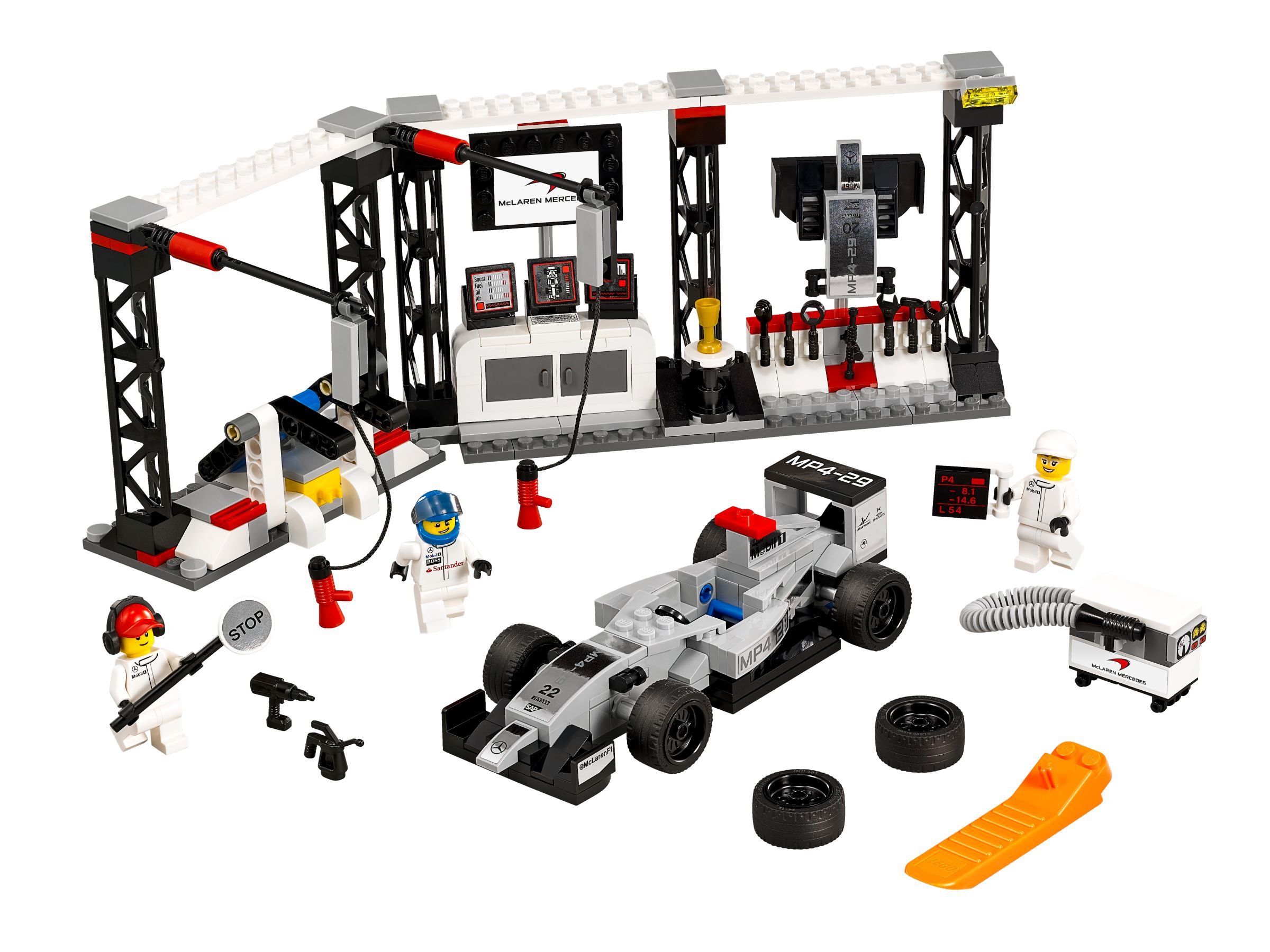 mclaren mercedes boxenstopp 75911 lego speed champions 2015 im preisvergleich mclaren. Black Bedroom Furniture Sets. Home Design Ideas