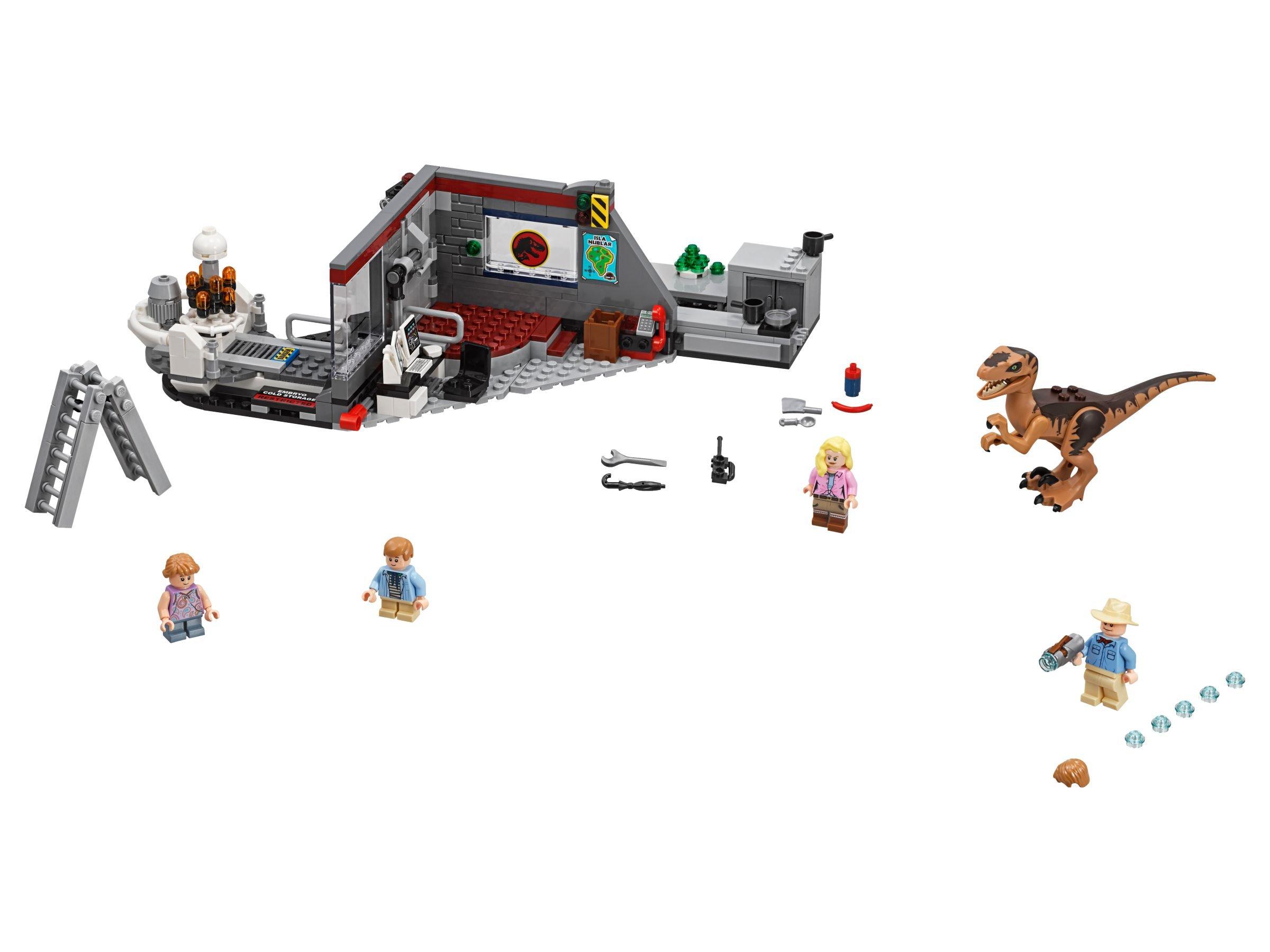 Lego 75932 Jagd Auf Den Velociraptor Jurassic World 2018