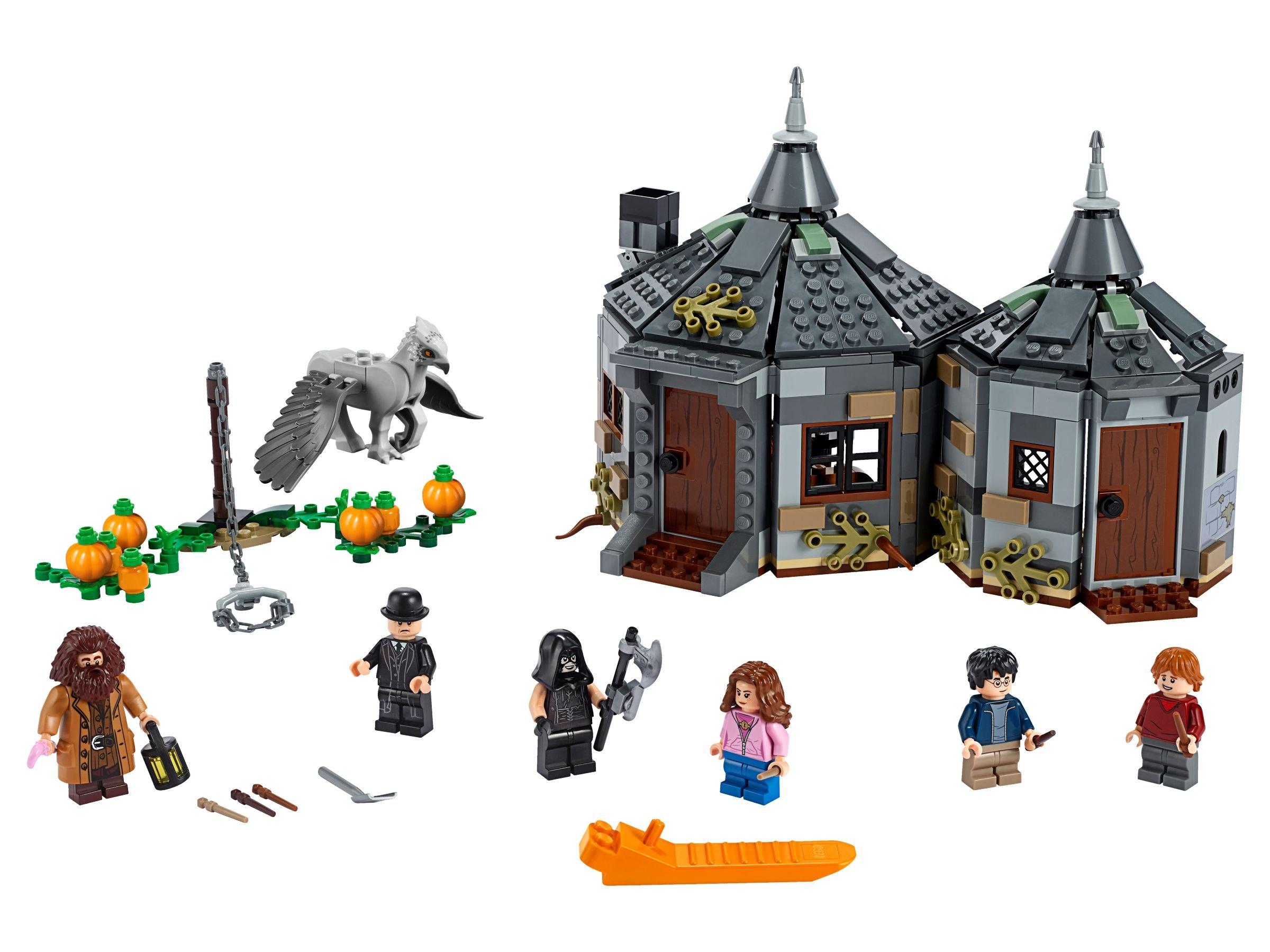 Lego Weihnachtskalender 2019.Lego 75947 Harry Potter Hagrids Hutte Seidenschnabels Rettung 2019 Hagrid S Hut