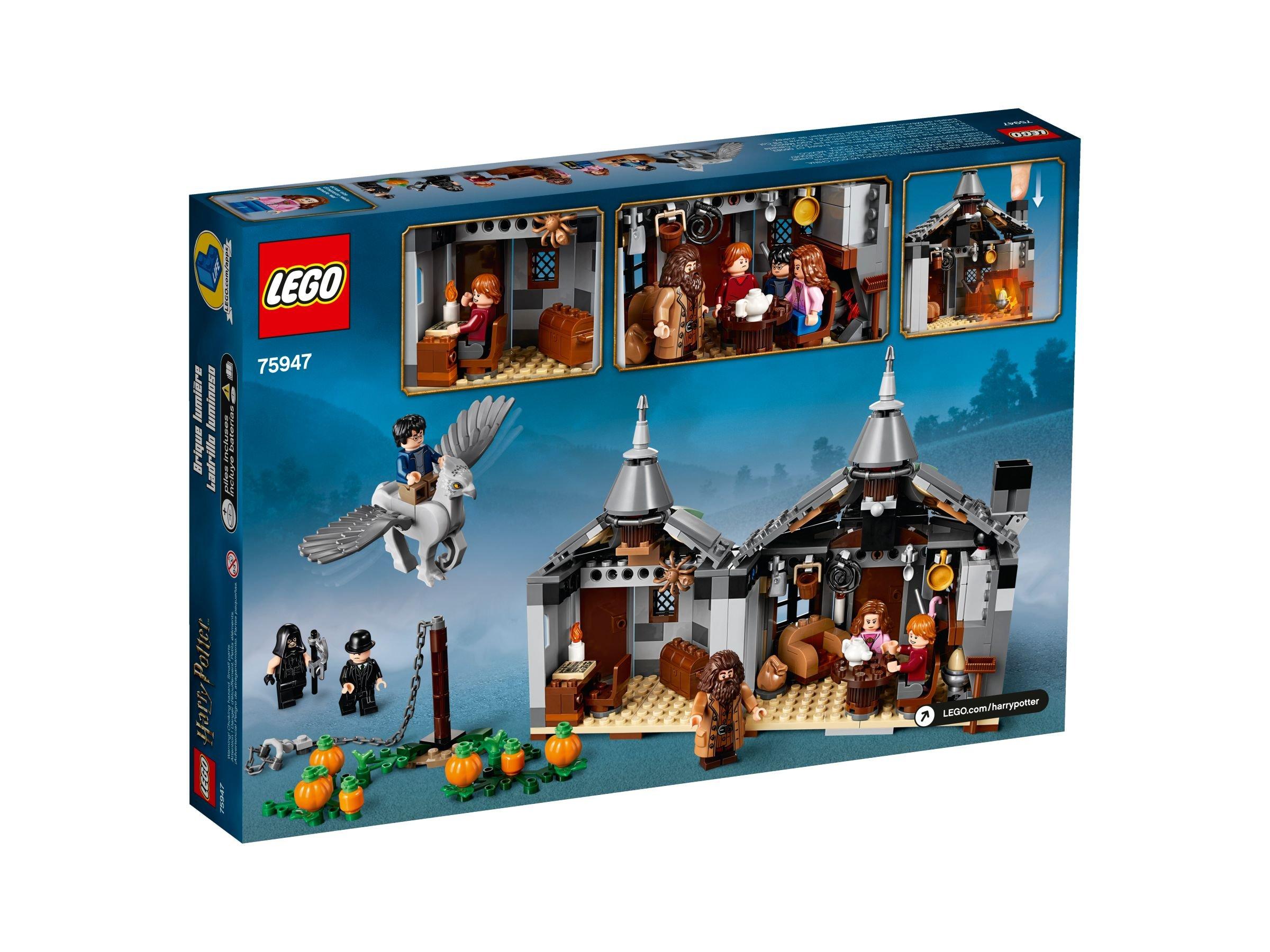LEGO® Harry Potter 75947 Hagrids Hütte Seidenschnabels Rettung