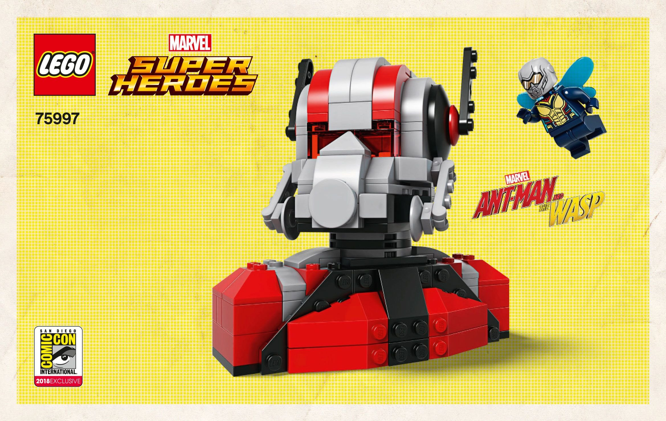 LEGO Super Heroes 75997 Ant-Man and the Wasp
