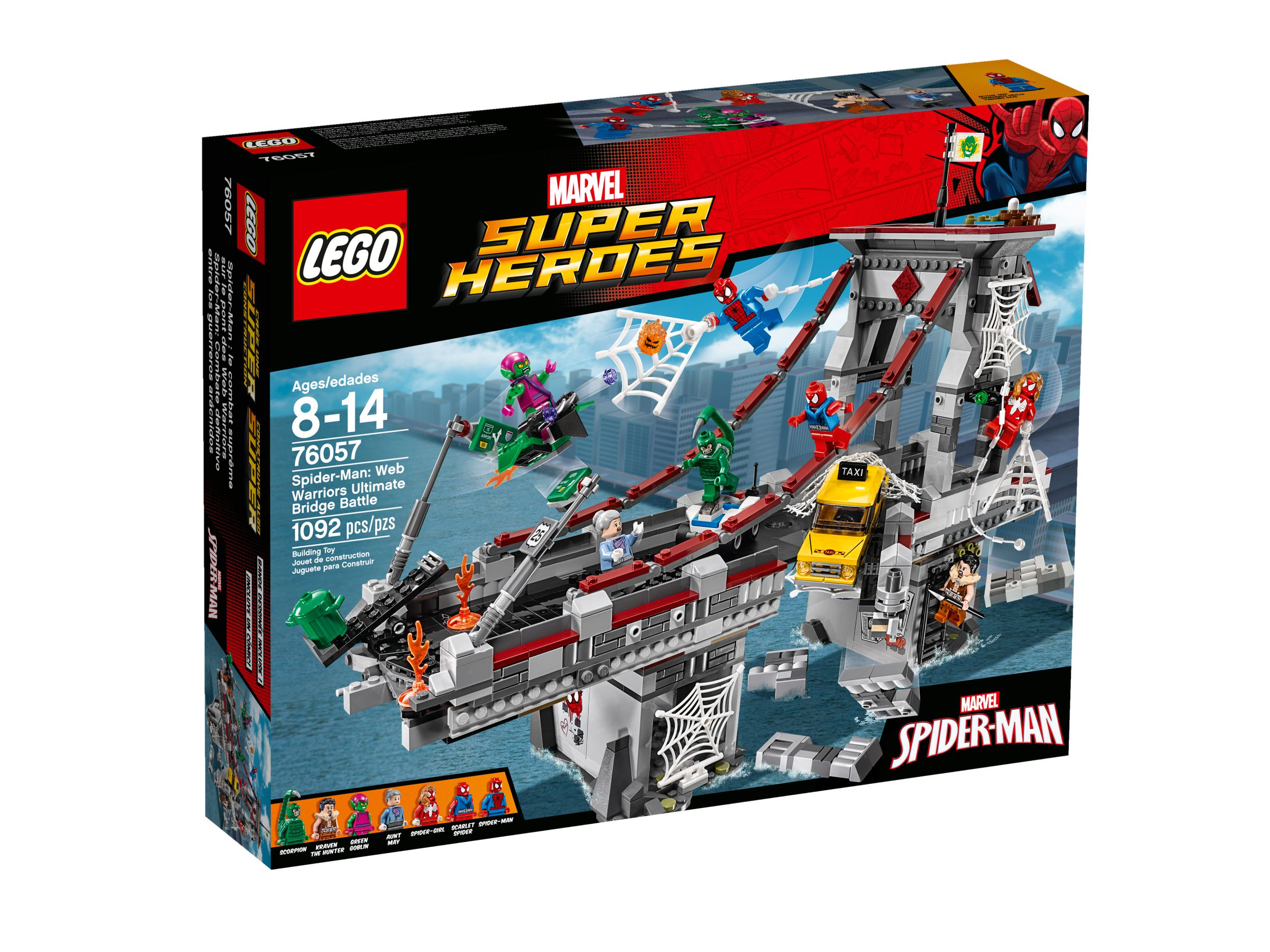 LEGO Super Heroes 76057 Spider-Man: Ultimatives Brückenduell der Web-Warriors LEGO_76057_alt1.jpg