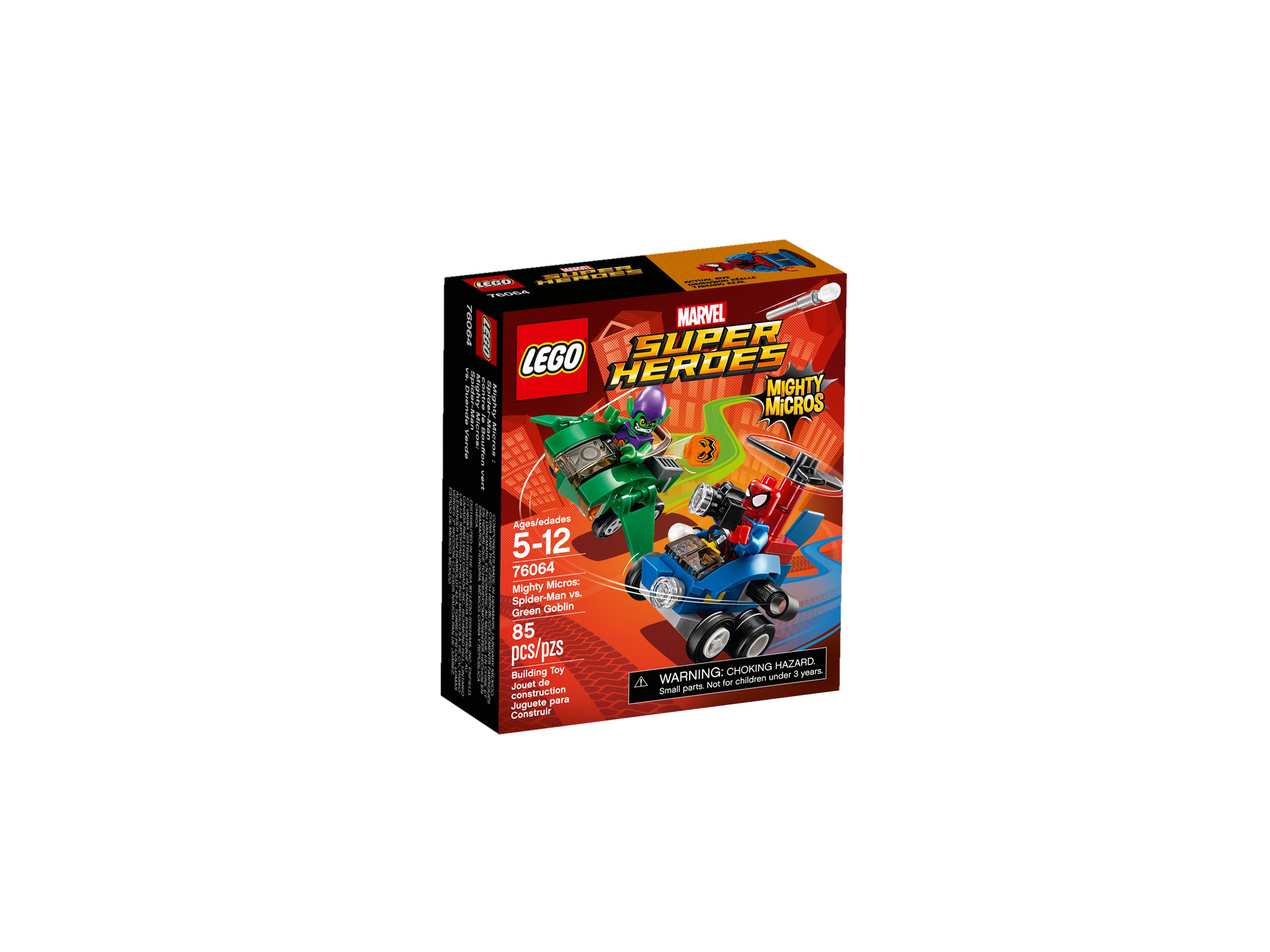 LEGO Super Heroes 76064 Mighty Micros: Spider-Man vs. Green Goblin LEGO_76064_alt1.jpg