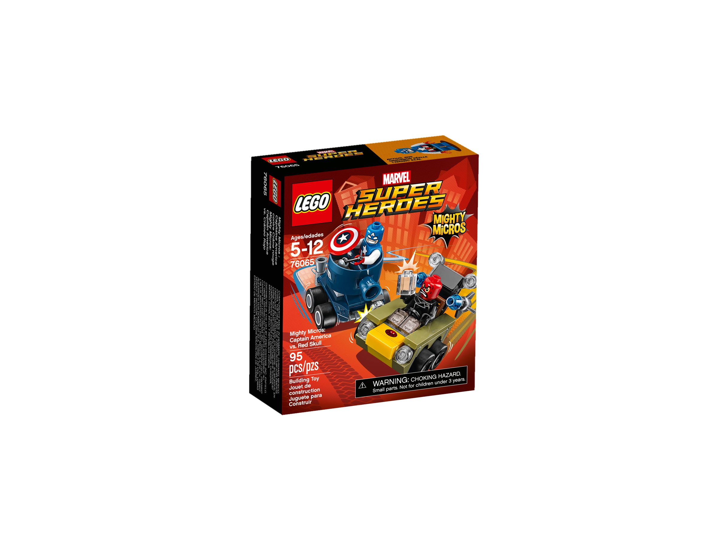 LEGO Super Heroes 76065 Mighty Micros: Captain America vs. Red Skull LEGO_76065_alt1.jpg