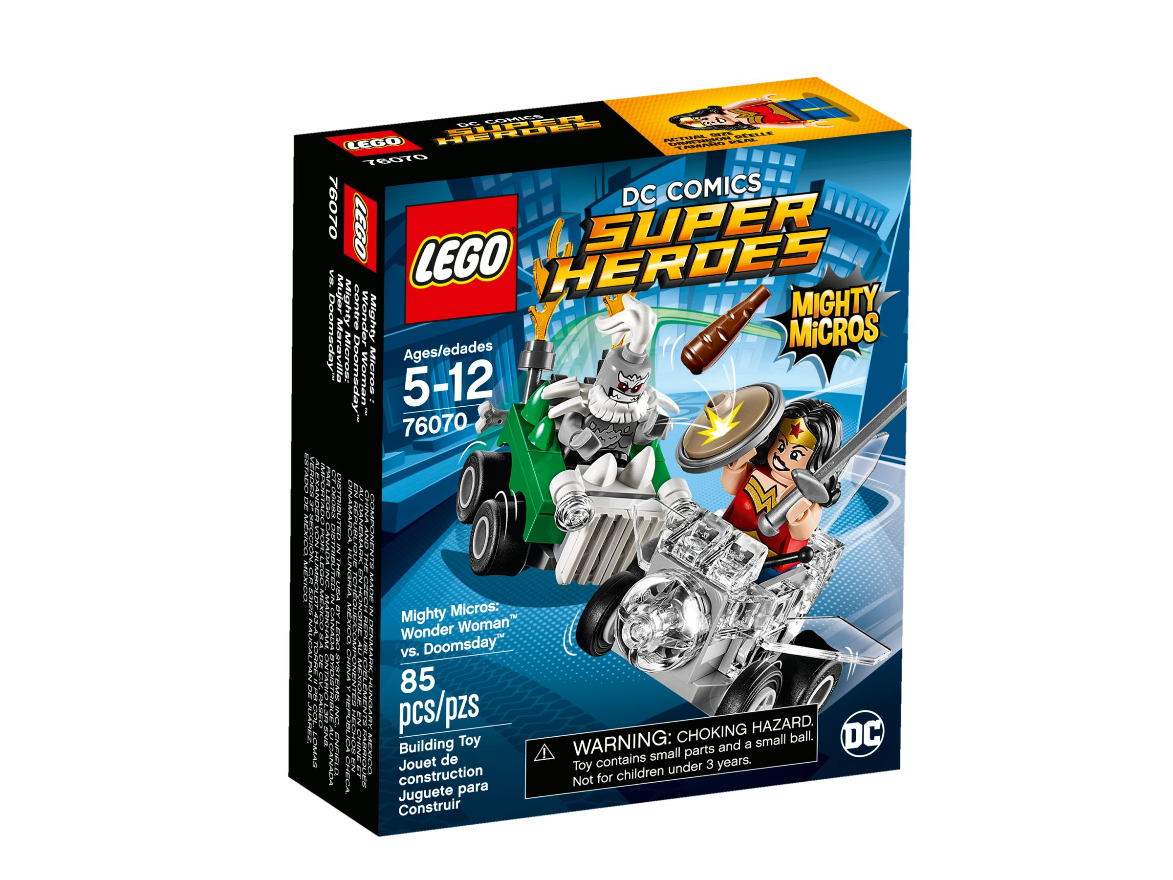 LEGO Super Heroes 76070 Mighty Micros: Wonder Woman™ vs. Doomsday™ LEGO_76070_alt1.jpg