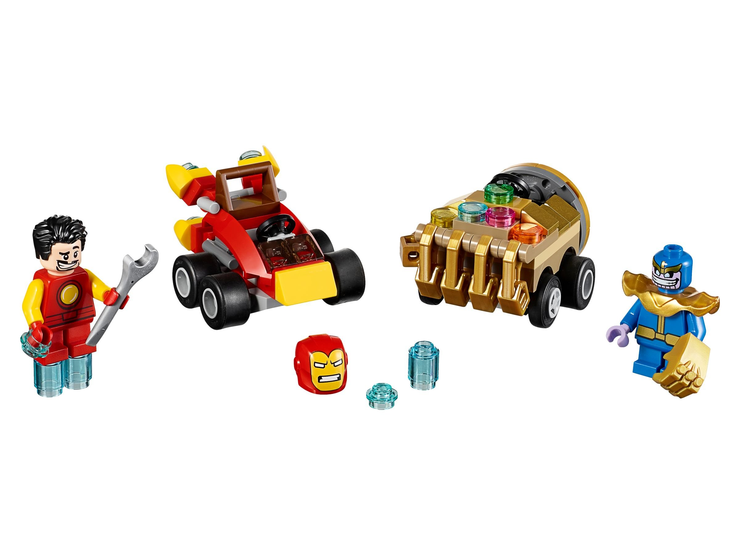 LEGO Super Heroes 76072 Mighty Micros: Iron Man vs. Thanos
