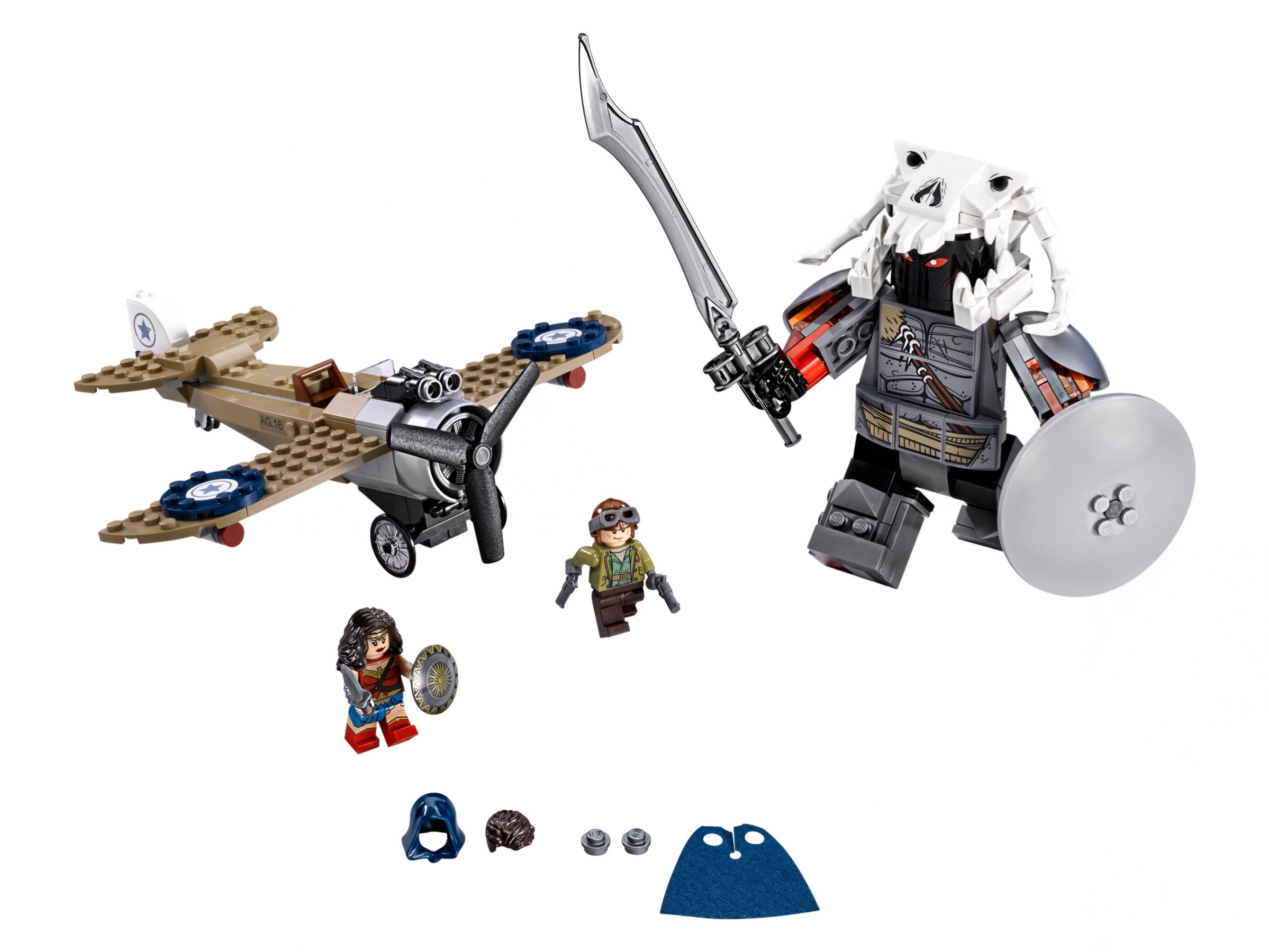 LEGO Super Heroes 76075 Wonder Woman™ im Action-Getümmel