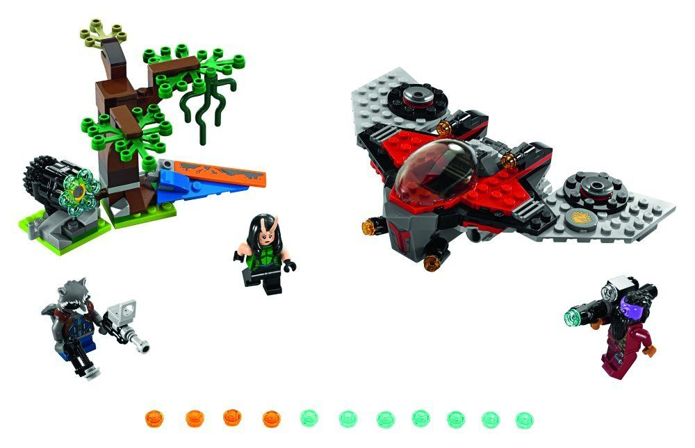LEGO Super Heroes 76079 Ravager-Attacke