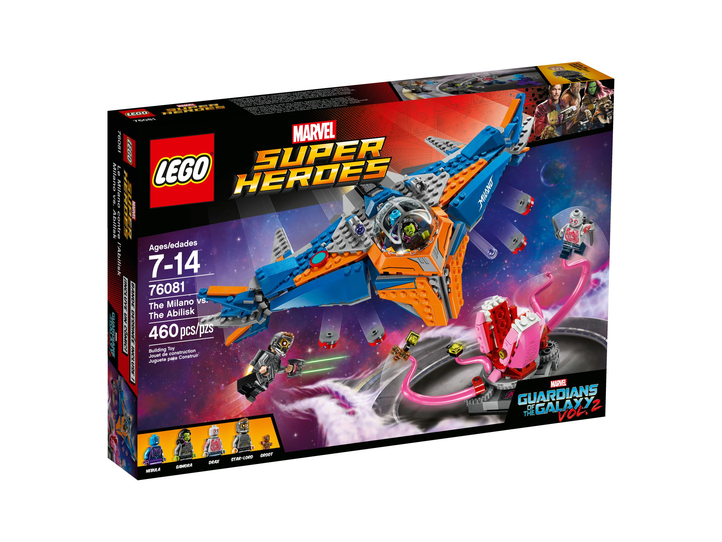LEGO Super Heroes 76081 Guardians of the Galaxy - The Milano vs. The Abilisk LEGO_76081_alt1.jpg