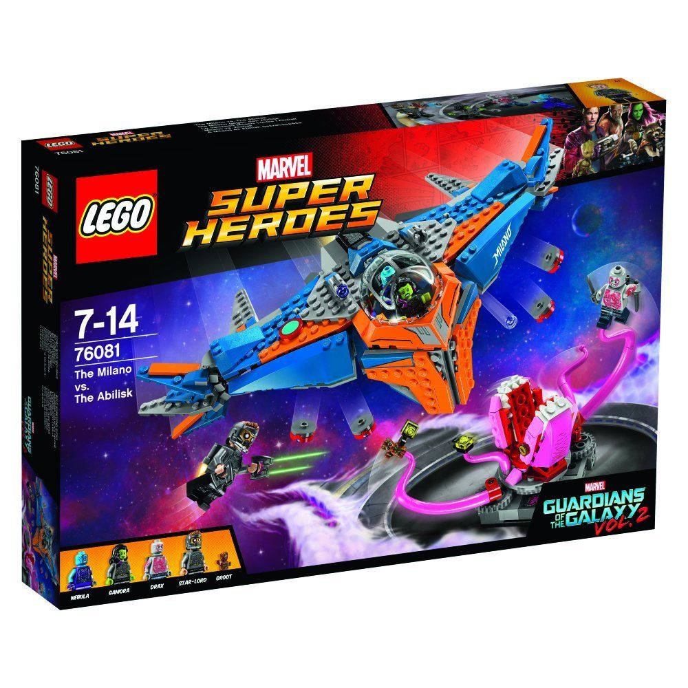 LEGO Super Heroes 76081 Guardians of the Galaxy - The Milano vs. The Abilisk LEGO_76081_img1.jpg