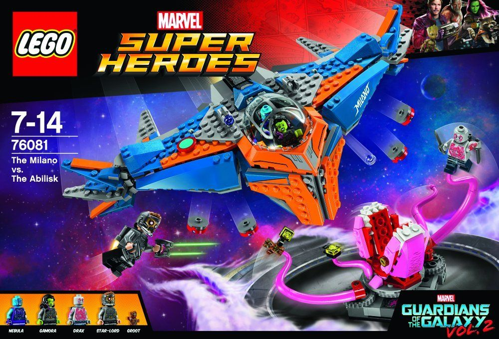LEGO Super Heroes 76081 Guardians of the Galaxy - The Milano vs. The Abilisk LEGO_76081_img2.jpg