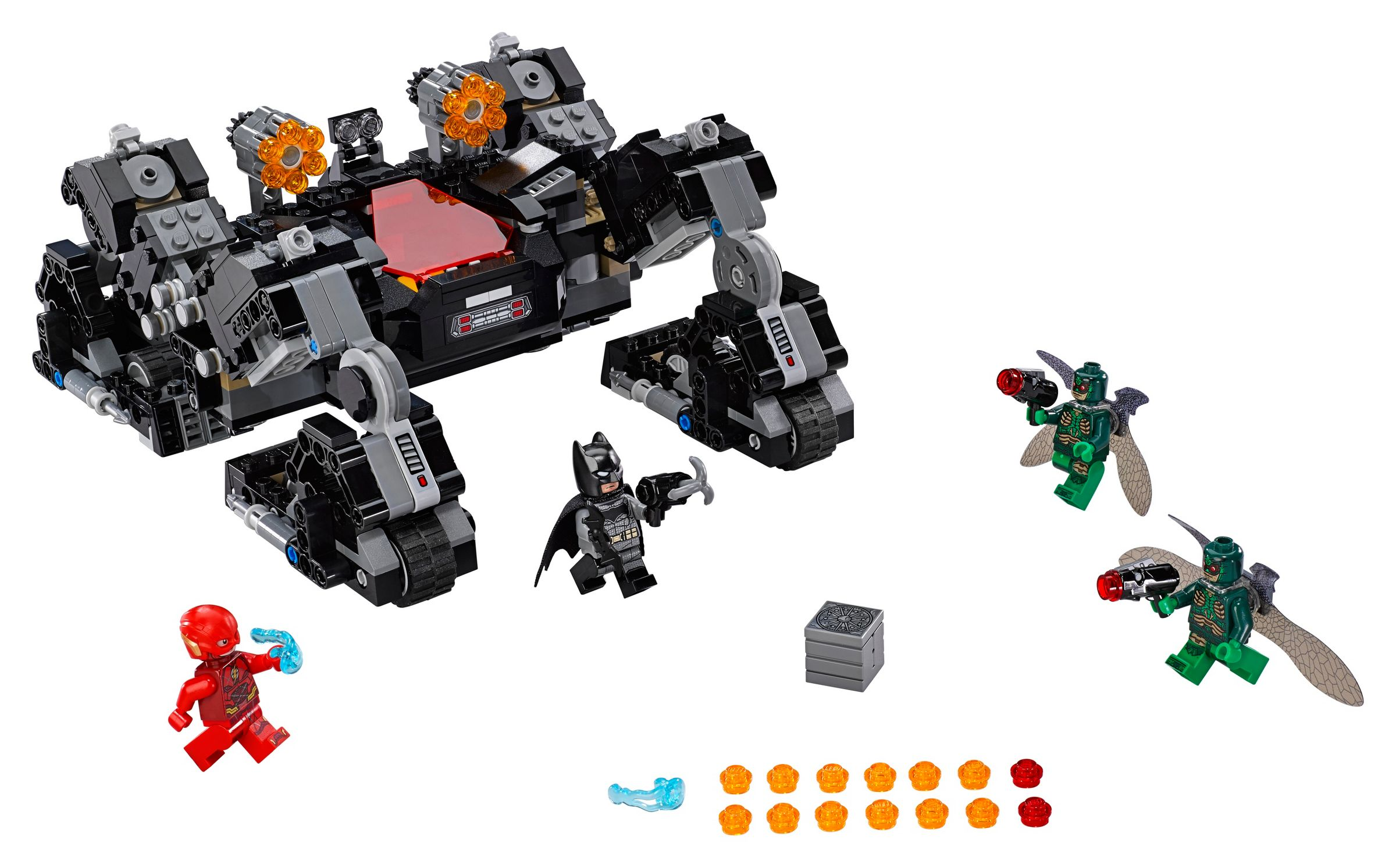 LEGO Super Heroes 76086 Knightcrawlers Tunnel-Attacke