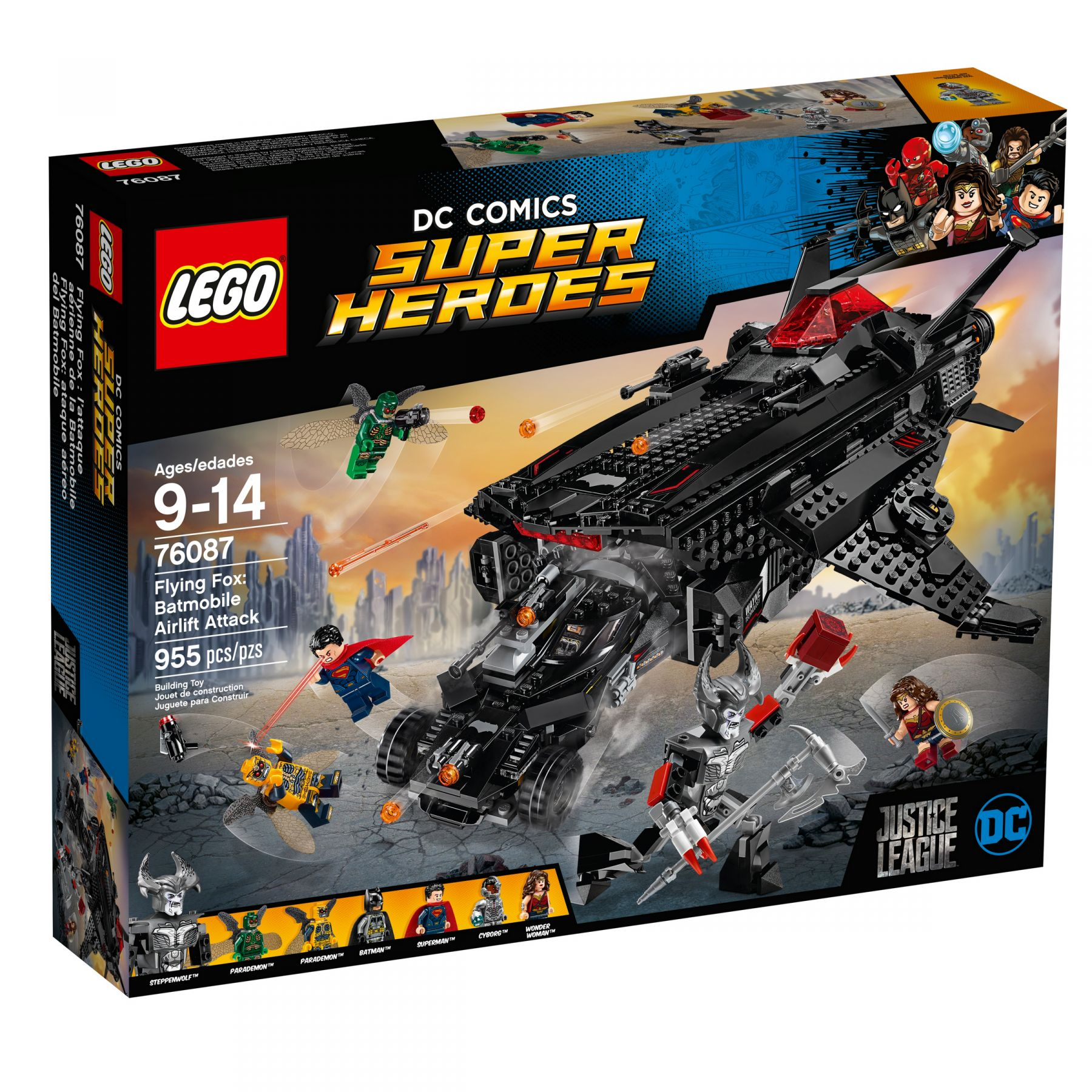 LEGO Super Heroes 76087 Flying Fox: Batmobil-Attacke aus der Luft LEGO_76087_alt1.jpg