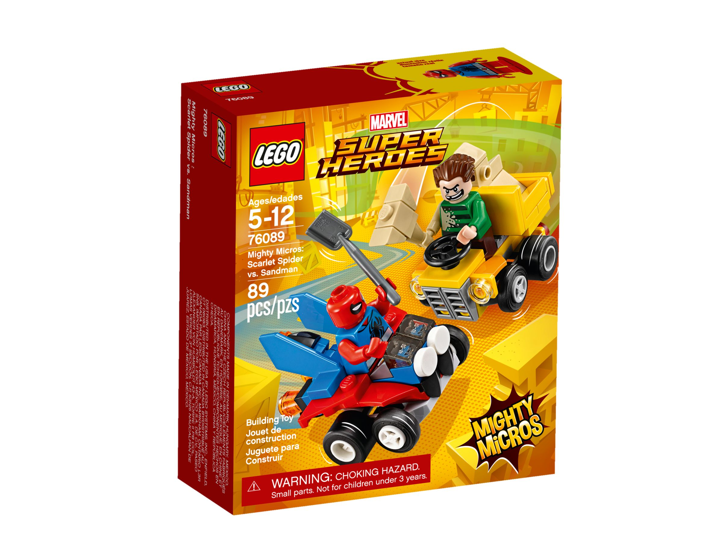 LEGO Super Heroes 76089 Mighty Micros: Spider-Man vs. Sandman LEGO_76089_alt1.jpg