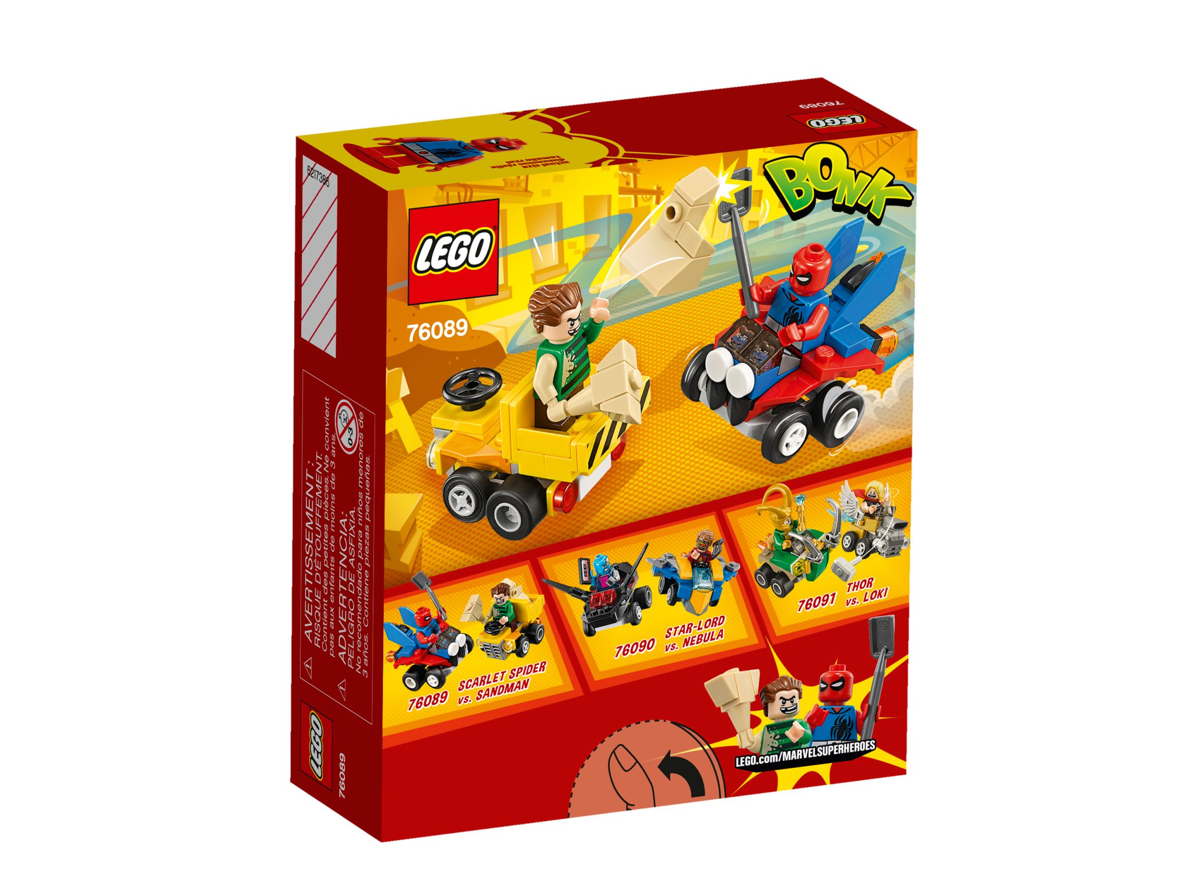 LEGO Super Heroes 76089 Mighty Micros: Spider-Man vs. Sandman LEGO_76089_alt2.jpg