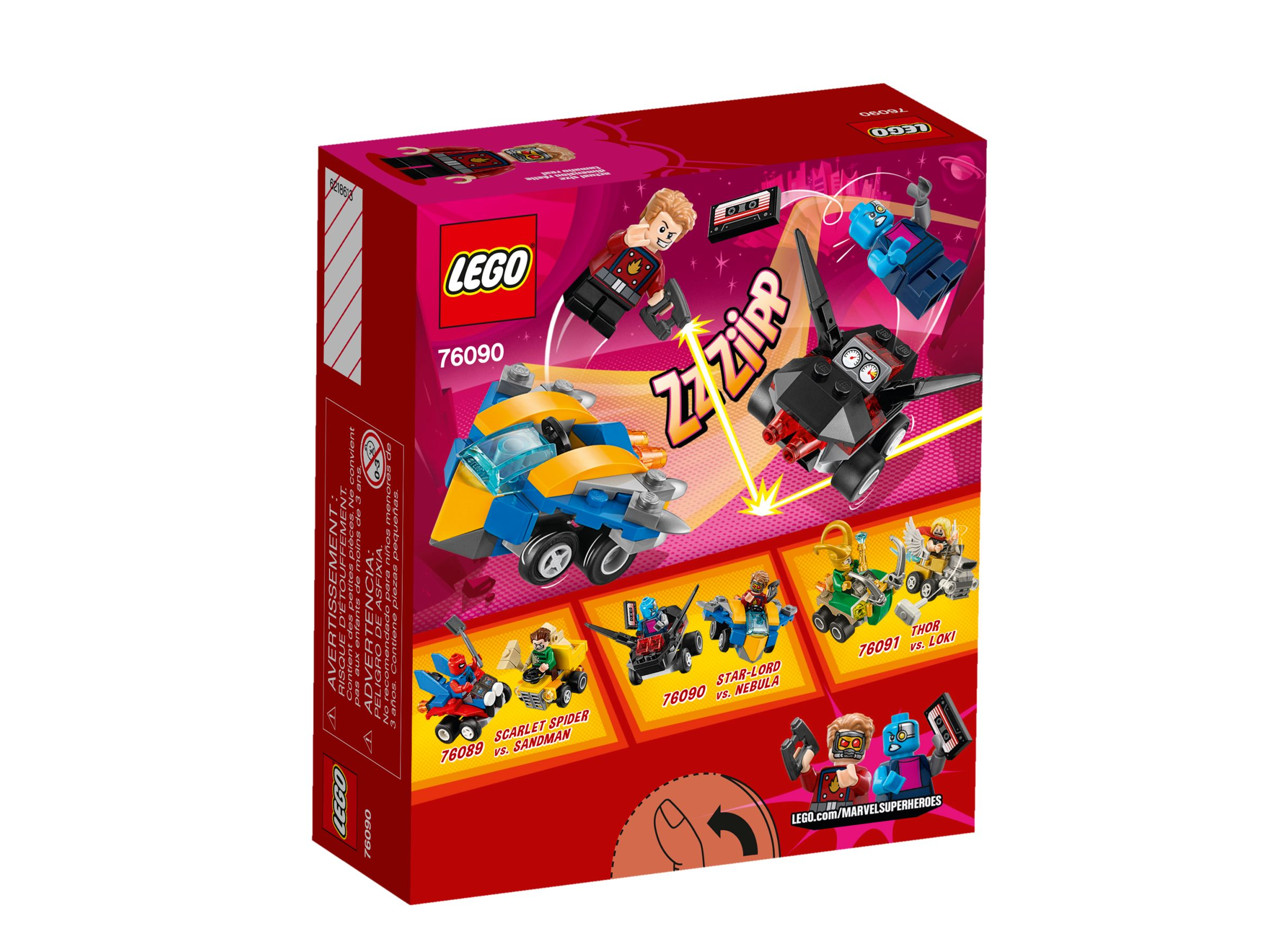 LEGO Super Heroes 76090 Mighty Micros: Star-Lord vs. Nebula LEGO_76090_alt2.jpg