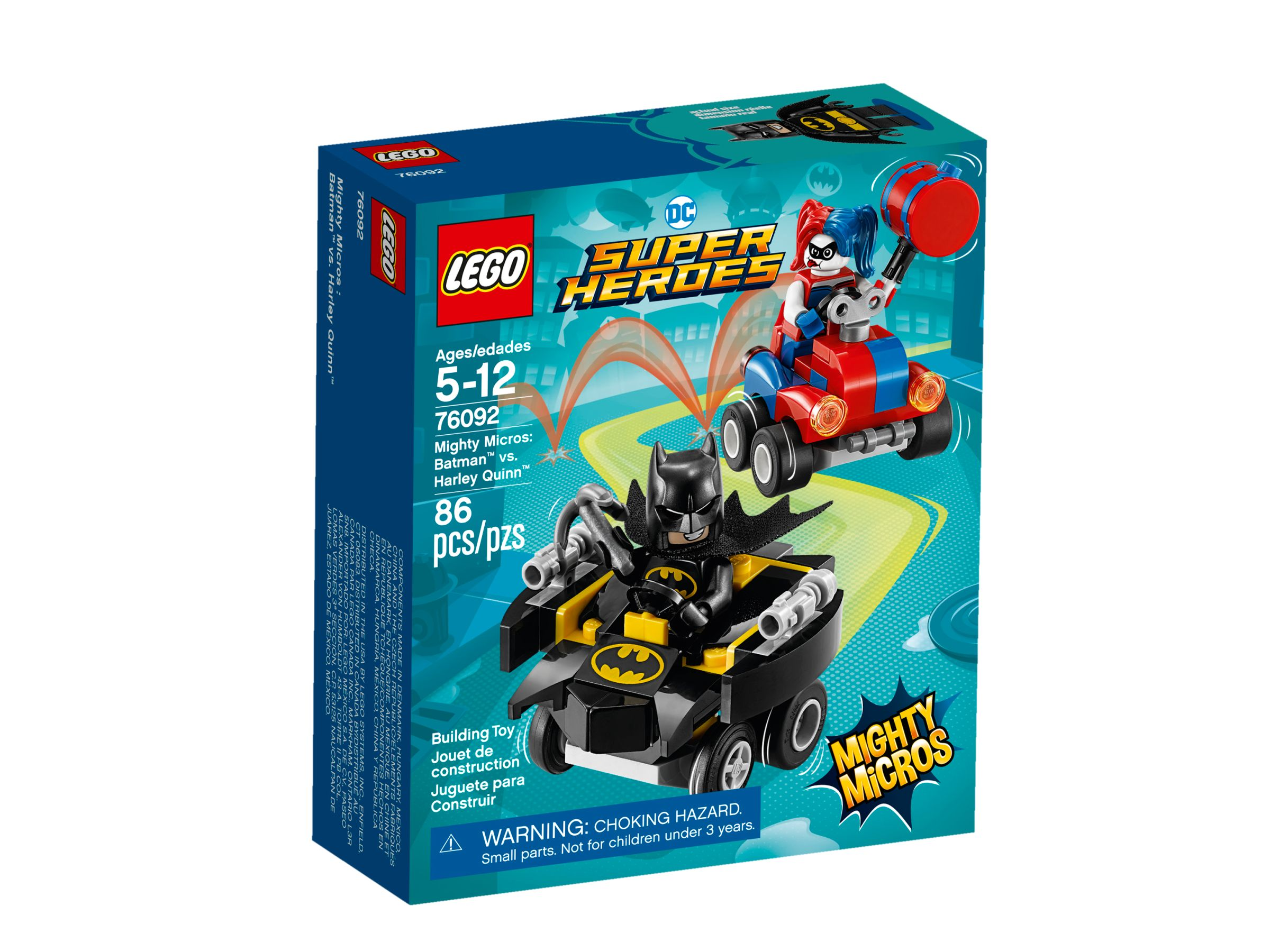 LEGO Super Heroes 76092 Mighty Micros: Batman vs. Harley Quinn LEGO_76092_alt1.jpg
