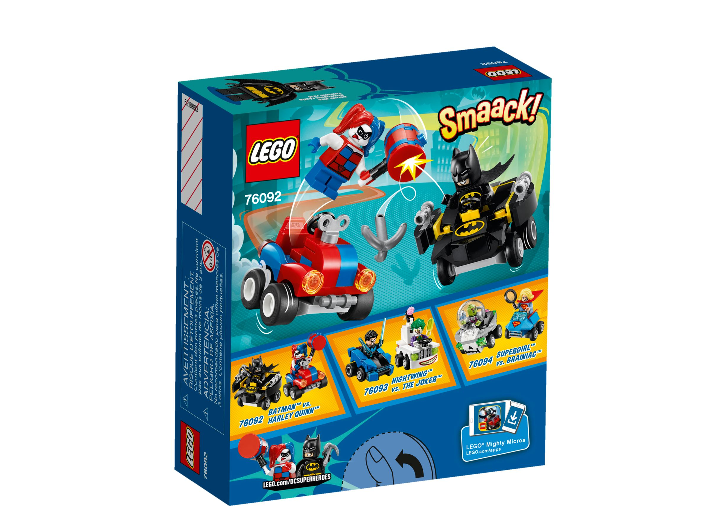 LEGO Super Heroes 76092 Mighty Micros: Batman vs. Harley Quinn LEGO_76092_alt2.jpg