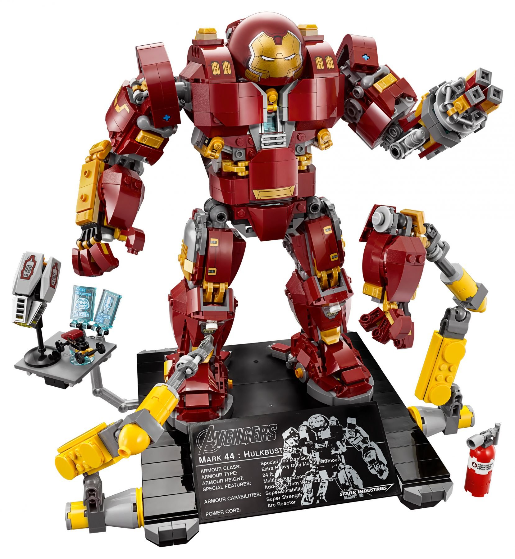 LEGO Super Heroes 76105 Marvel Avengers: Infinity War - The Hulkbuster: Ultron Edition