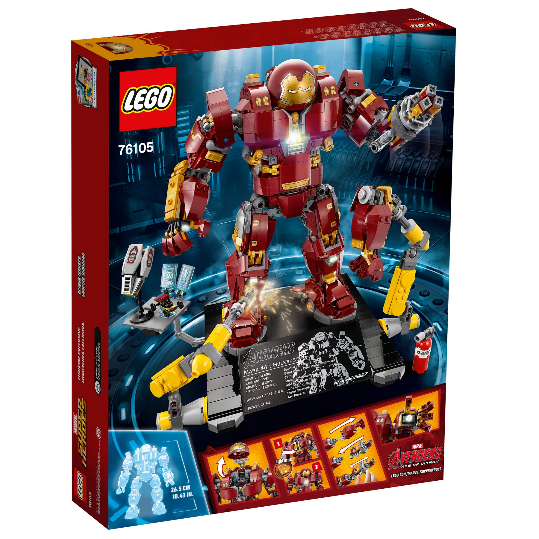 LEGO Super Heroes 76105 Marvel Avengers: Infinity War - The Hulkbuster: Ultron Edition LEGO_76105_alt12.jpg