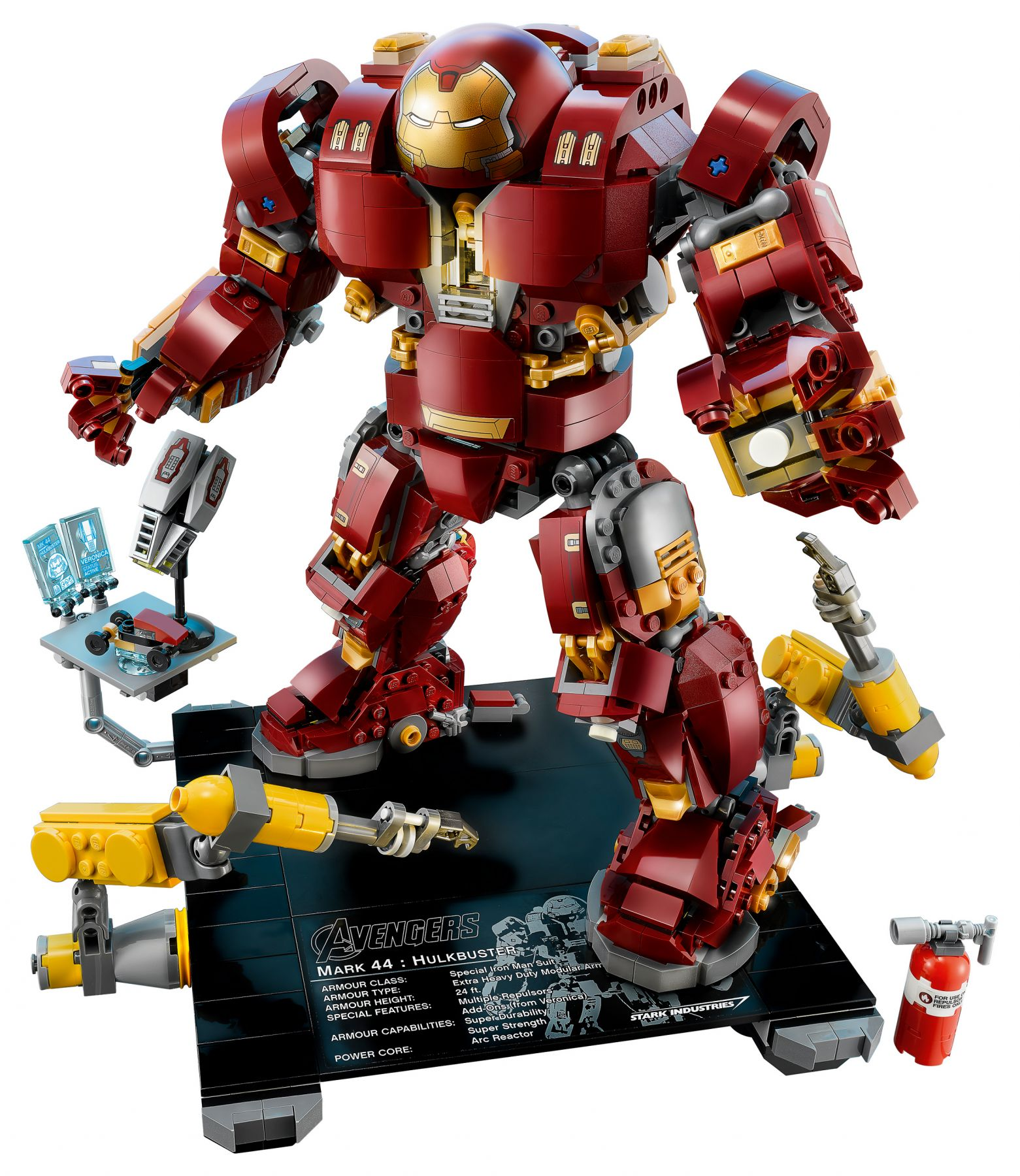 LEGO Super Heroes 76105 Marvel Avengers: Infinity War - The Hulkbuster: Ultron Edition LEGO_76105_alt2.jpg