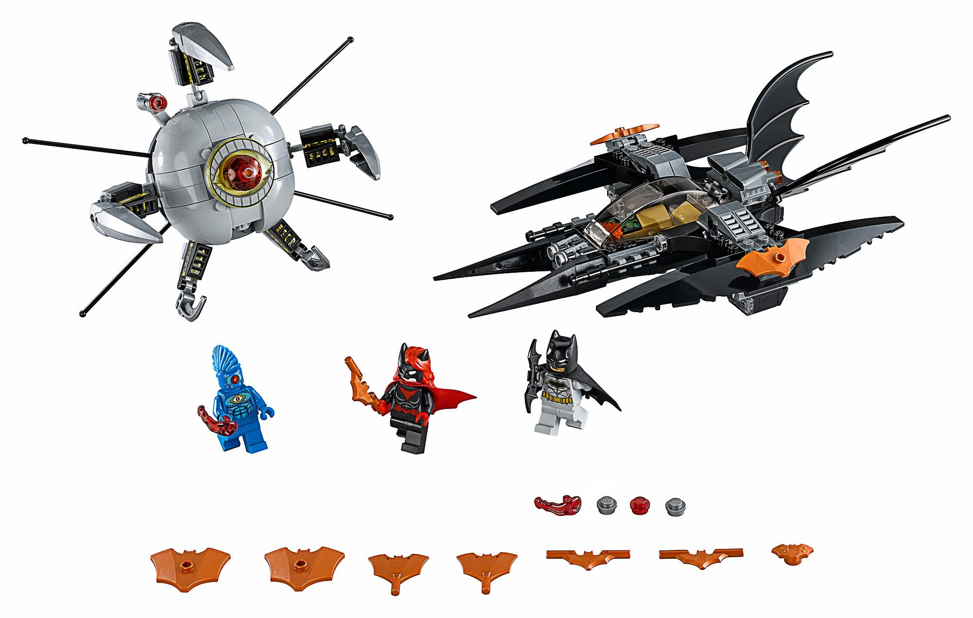 LEGO Super Heroes 76111 Batman™: Brother Eye™ Gefangennahme